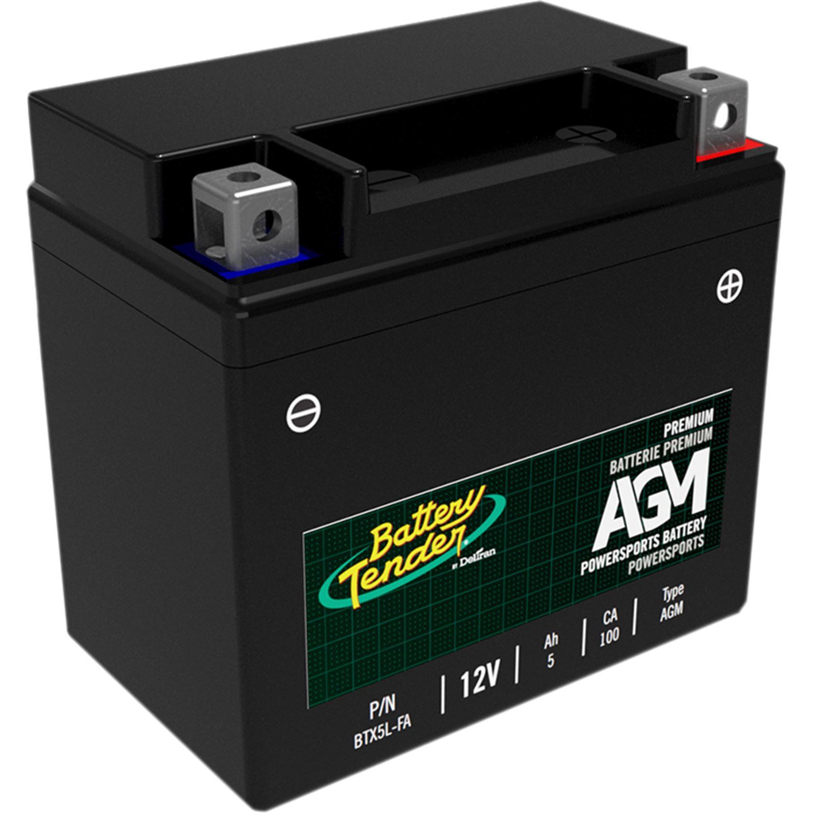 Battery Tender AGM Battery - BTX5L-FA