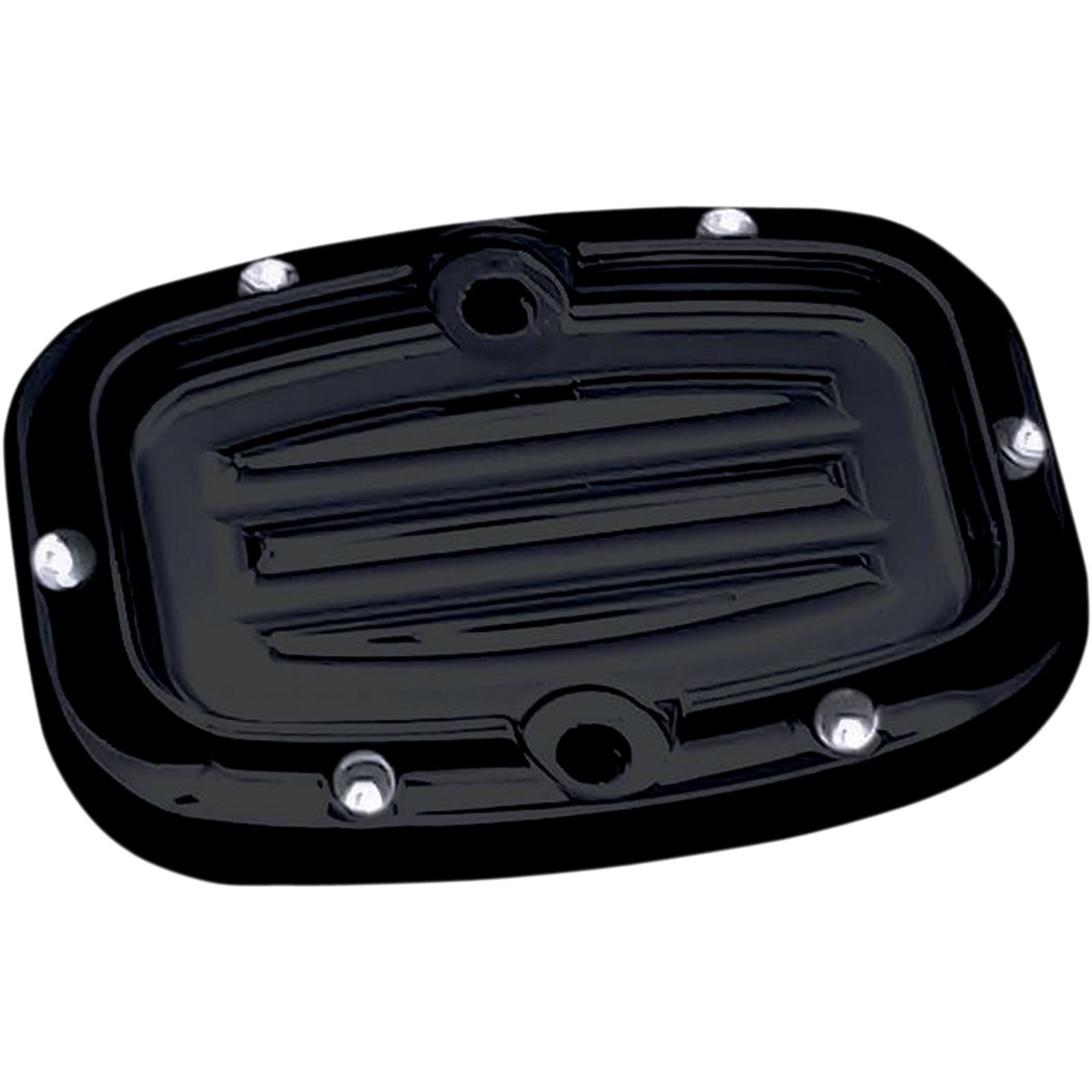 Covingtons Rear Master Cylinder Cover - Dimpled - Black