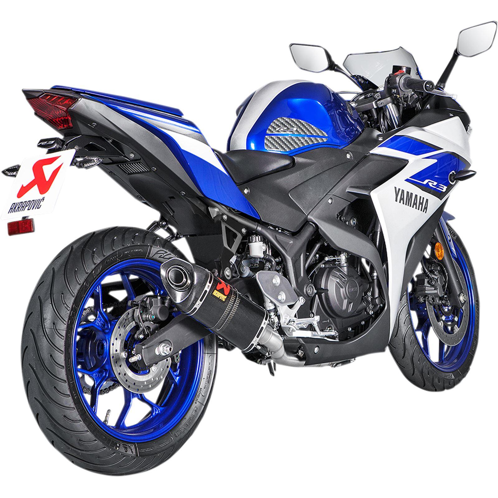 Akrapovic Race Exhaust - Carbon Fiber
