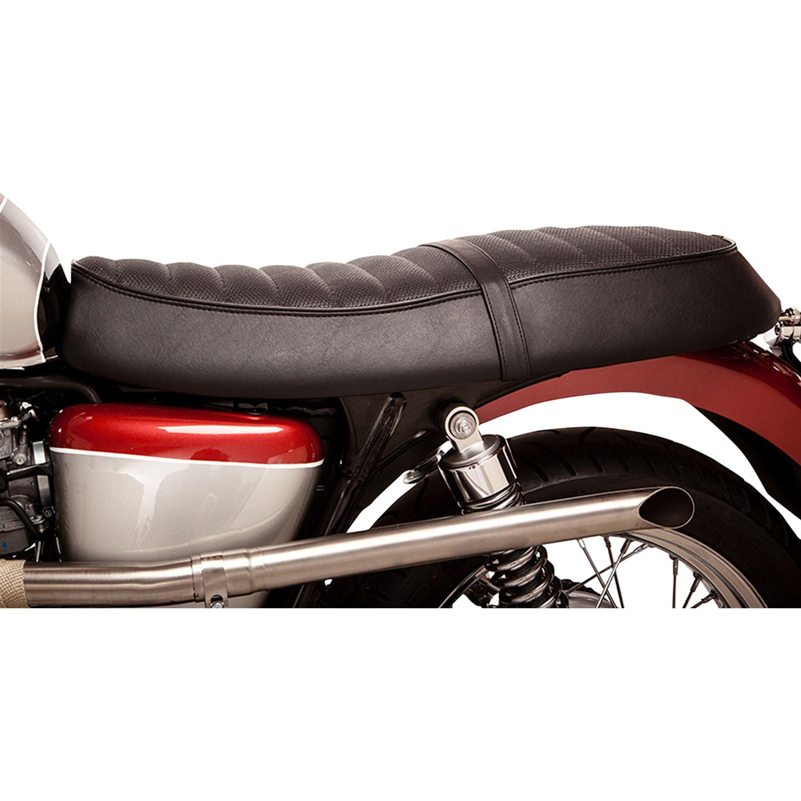 British Customs Black Seat Cover - Perforated Top