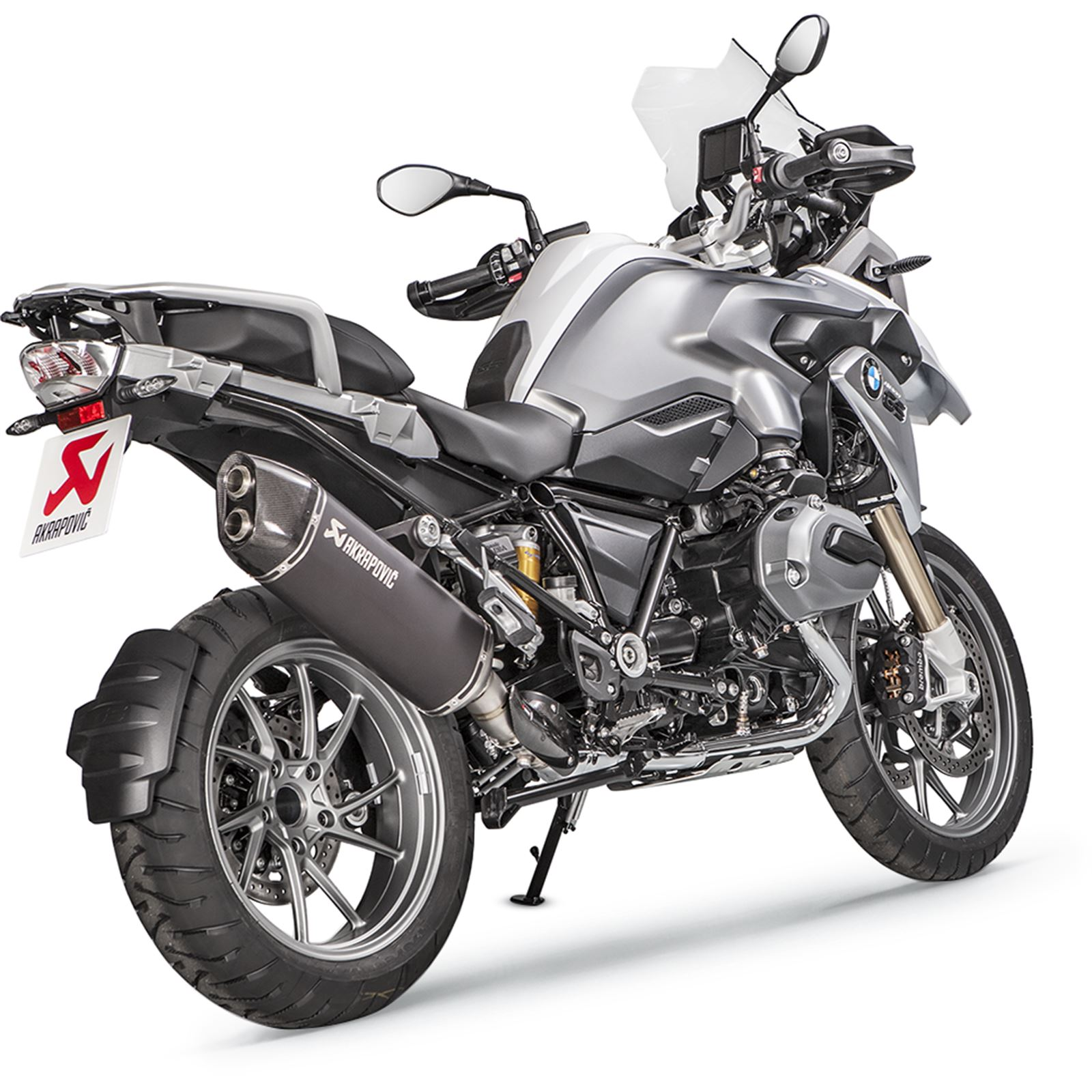 Akrapovic Muffler - Black - R1200GS/Adventure