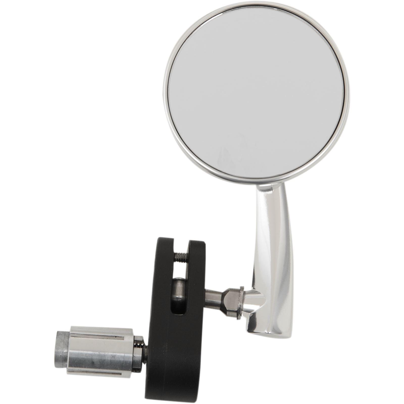 Emgo Bar End Mirror - Black - Right
