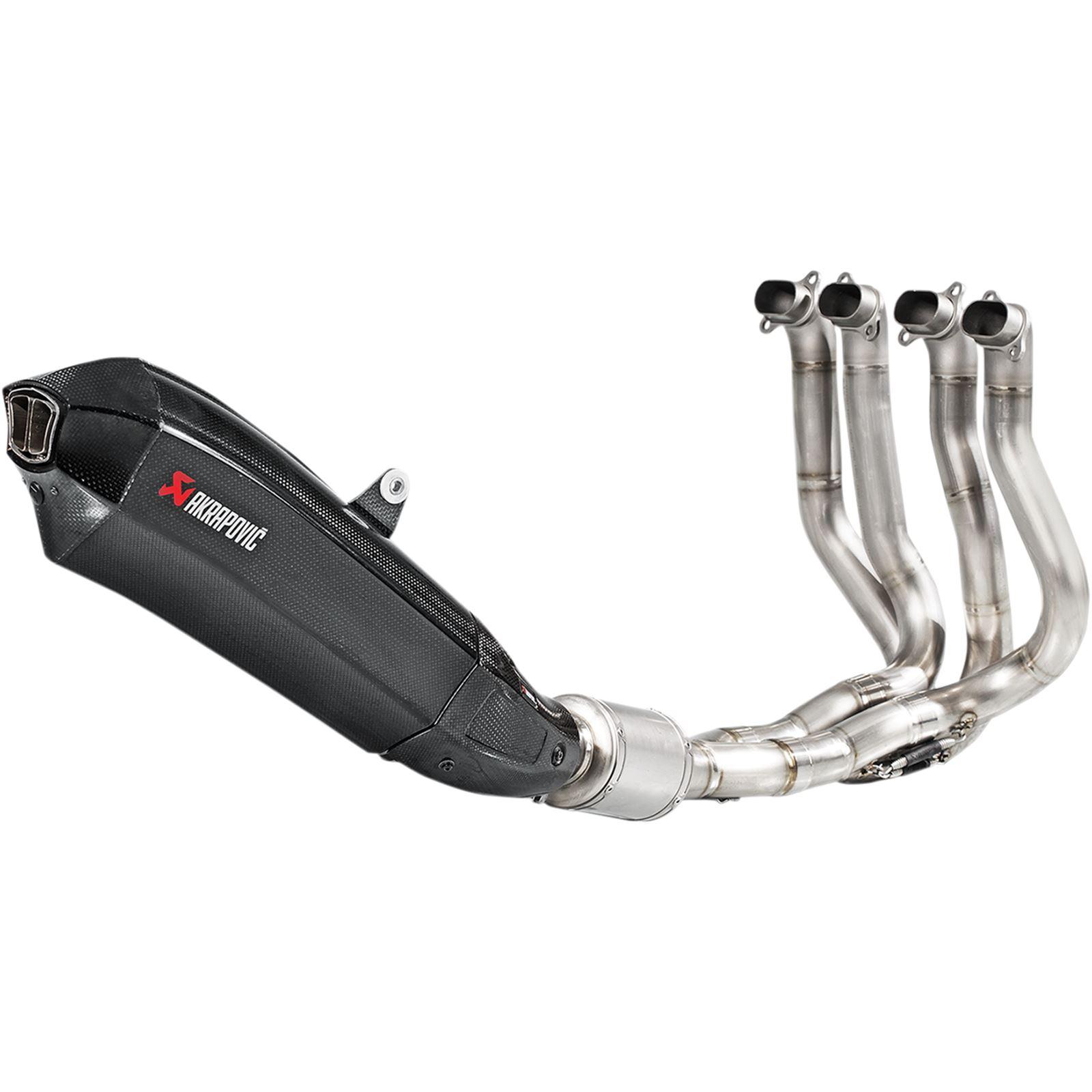 Akrapovic Evolution Exhaust - Carbon Fiber/Titanium - H2/H2R