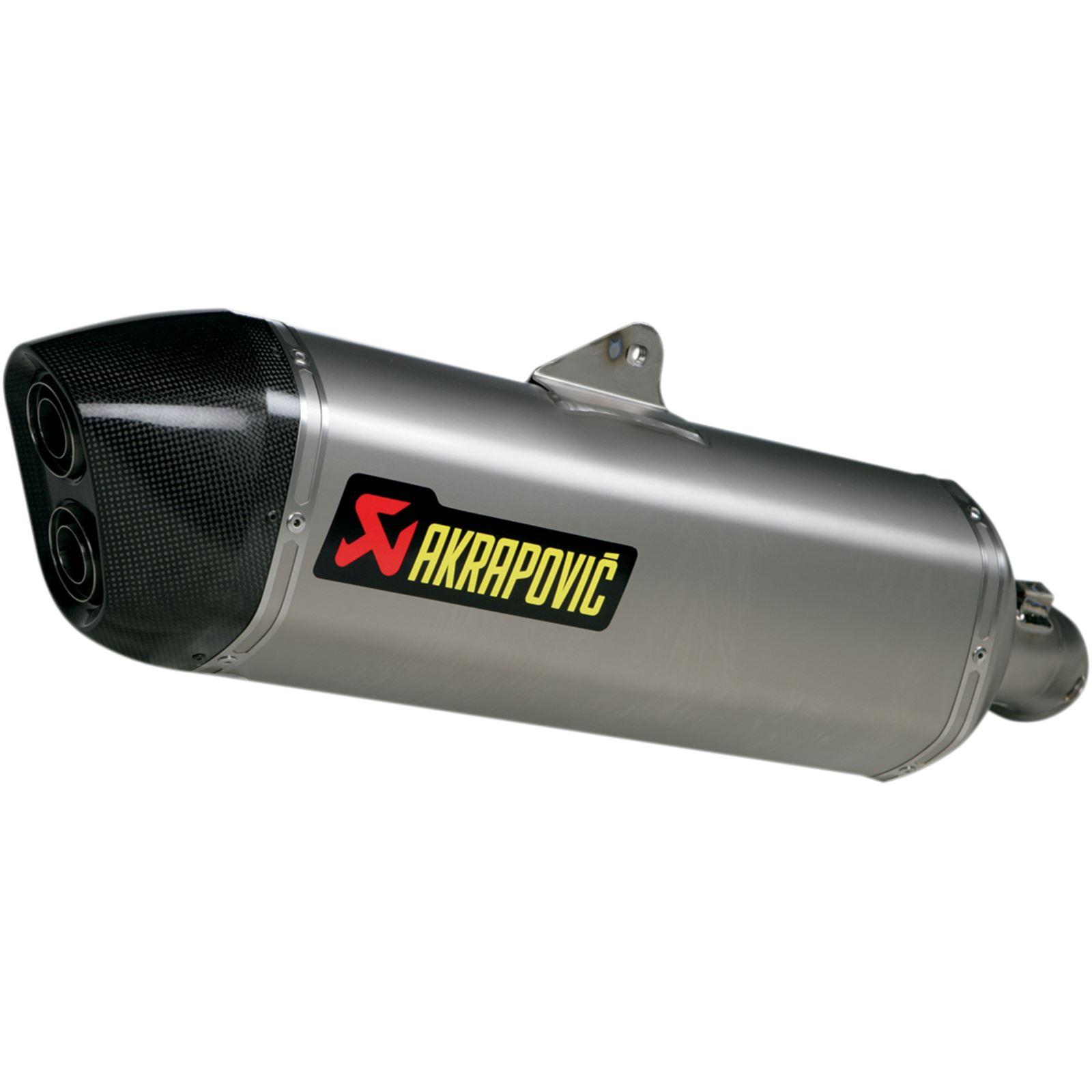 Akrapovic Muffler - Titanium