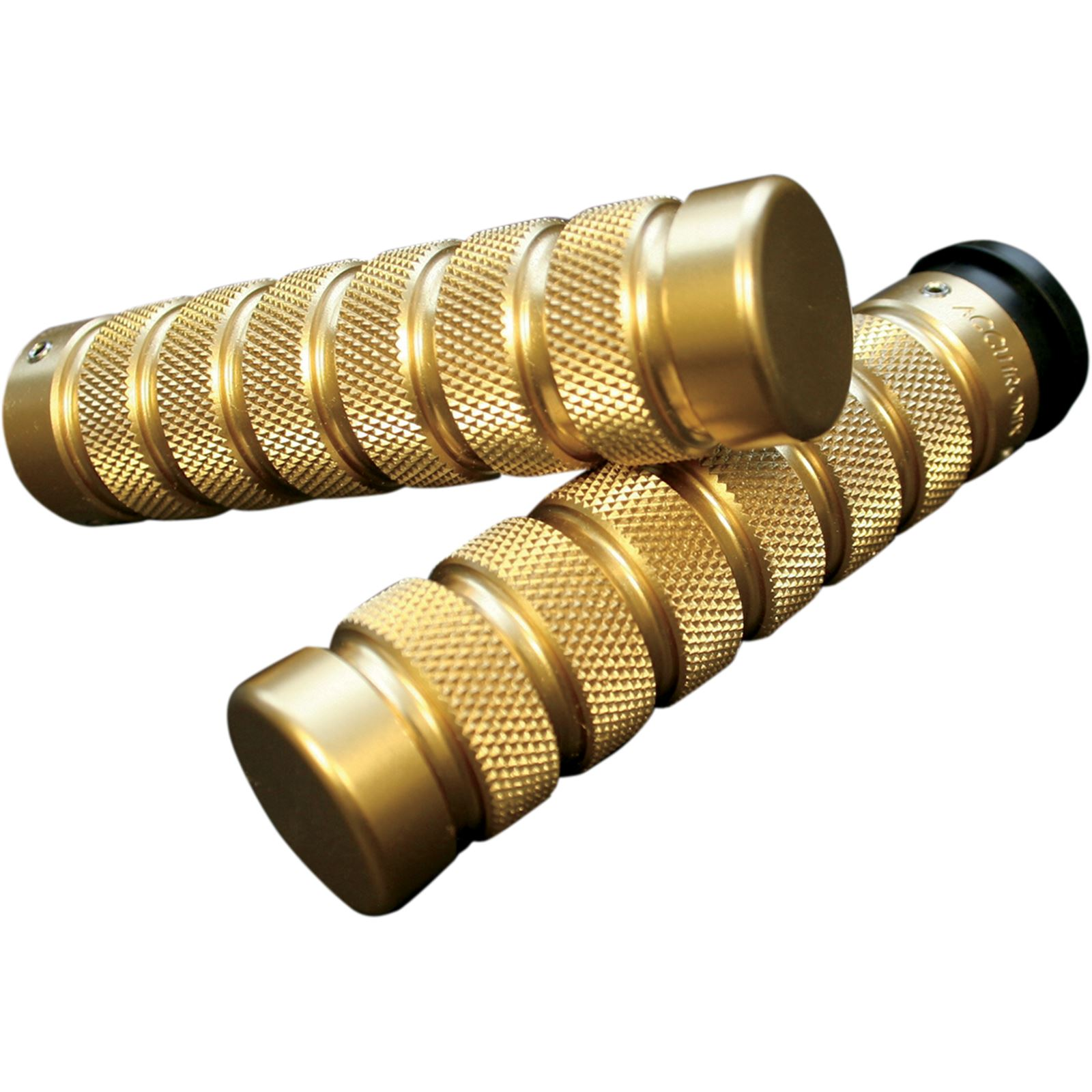 Accutronix Brass Knurled Notched Grips for Throttle by Wire