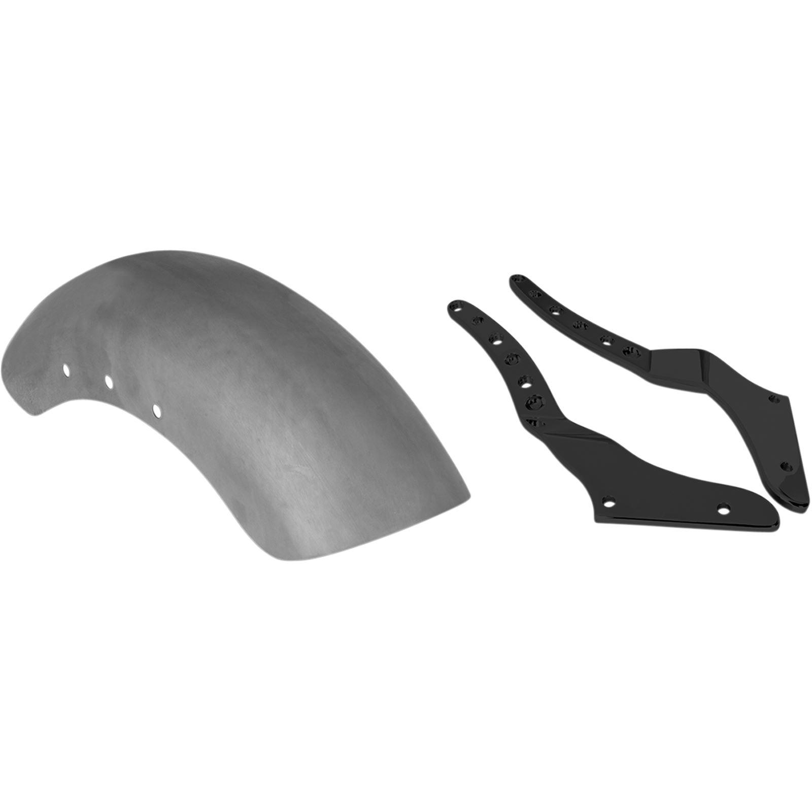 "RSD Tracker Rear Fender Conversion Kit with Black Struts - For 150 mm Rear Tire - 7"" W"