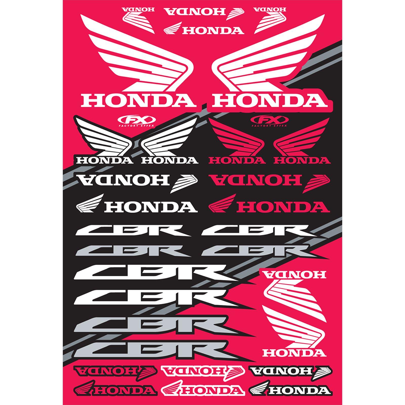 Factory Effex Decal Sheet - Honda