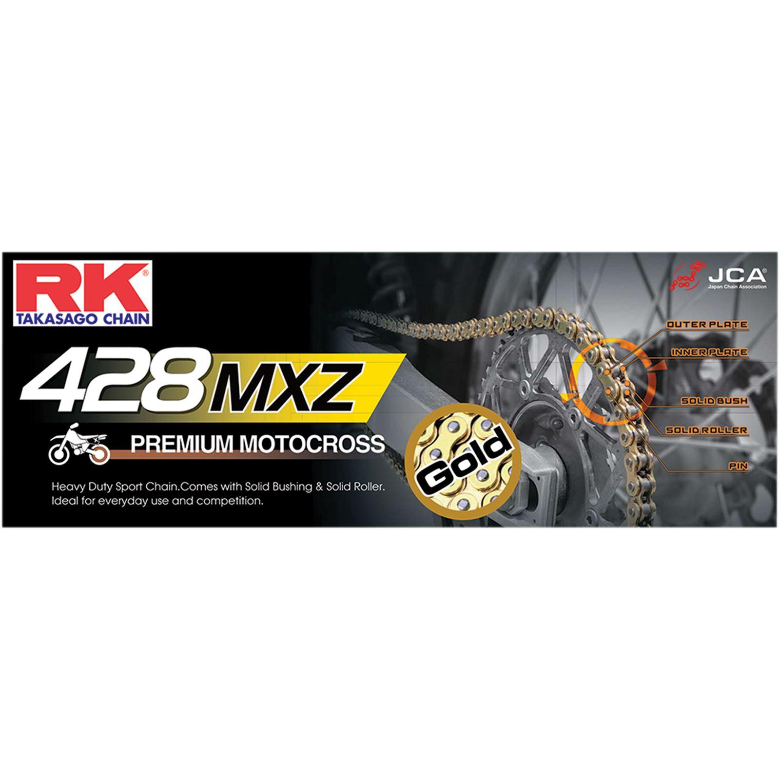 RK Excel GB 428 MXZ - Heavy Duty Bulk Chain - 25 Feet