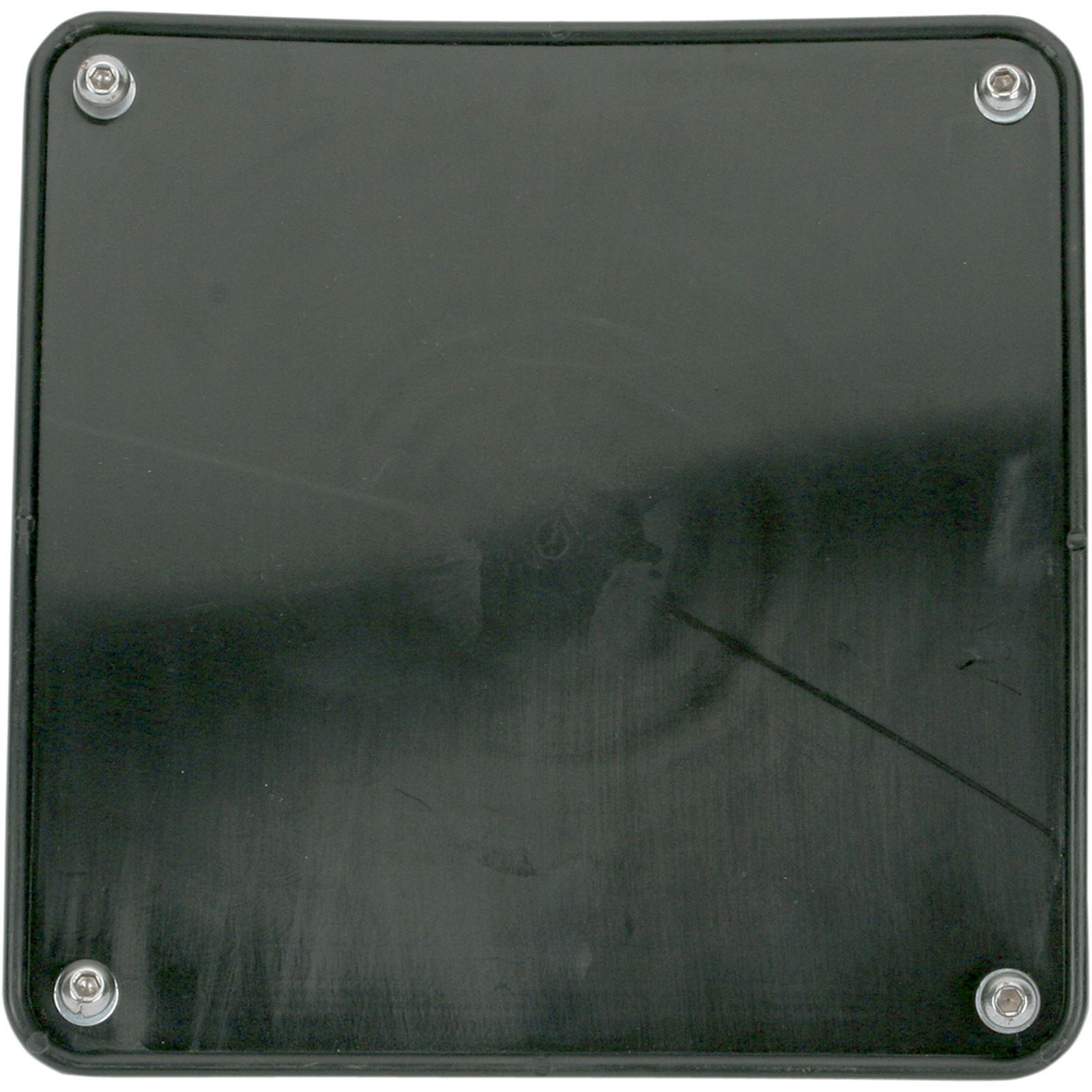 Motorsport Products Bumper Number Plate - Black
