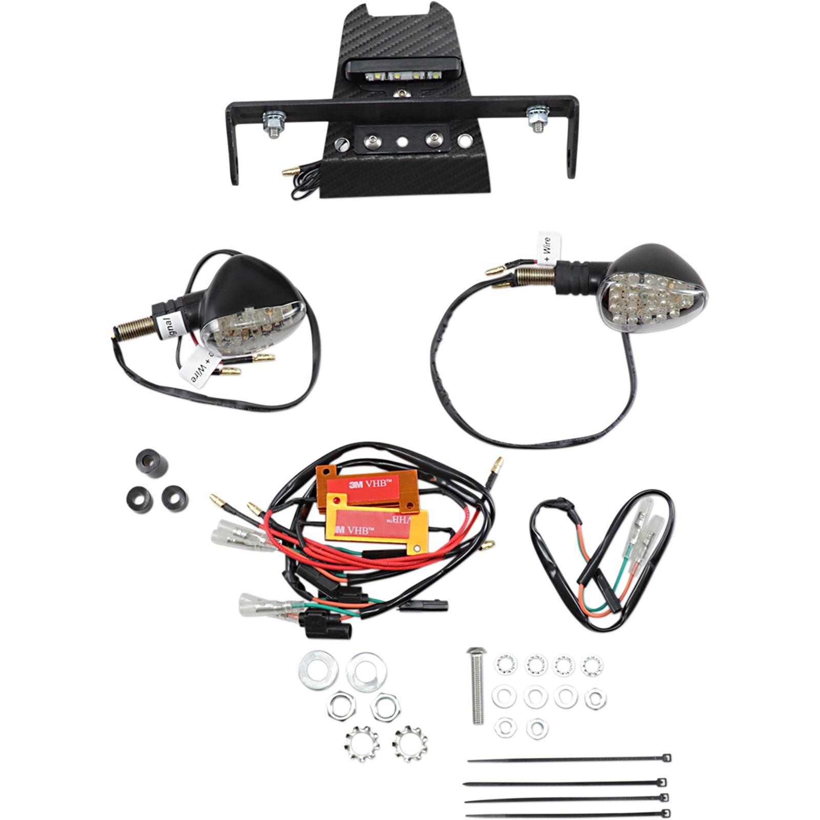 Targa Tail Kit with LED Signals - CBR650F '14-'16