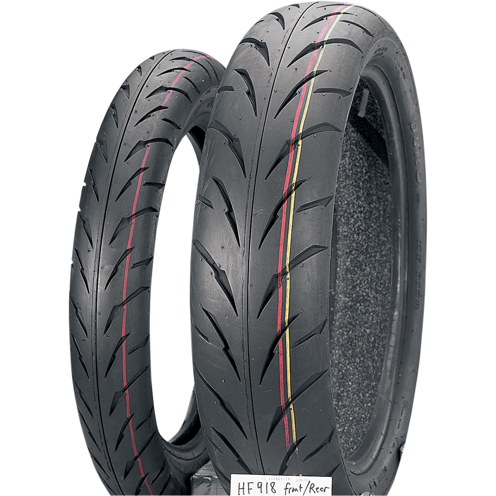 Duro Tire Sport - Front - HF918 - 100/90-18