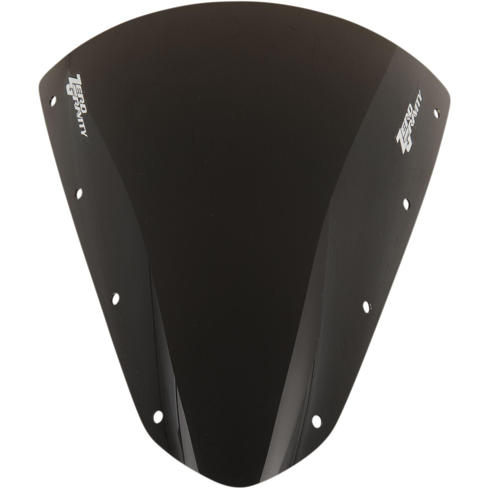 Zero Gravity Windshields SR Windscreen - Dark Smoke - Ninja H2R