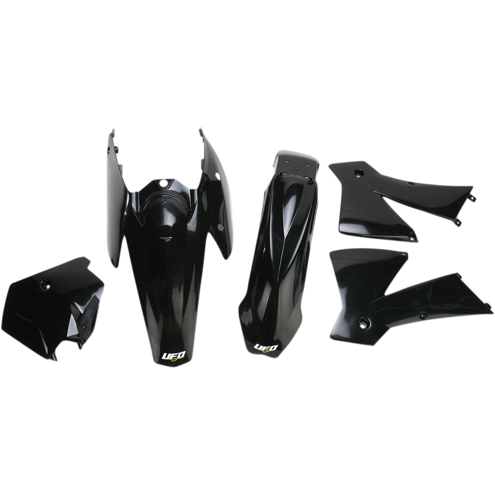 UFO Plastics Body Kit - Black - KTM2T/4T - '03-'04