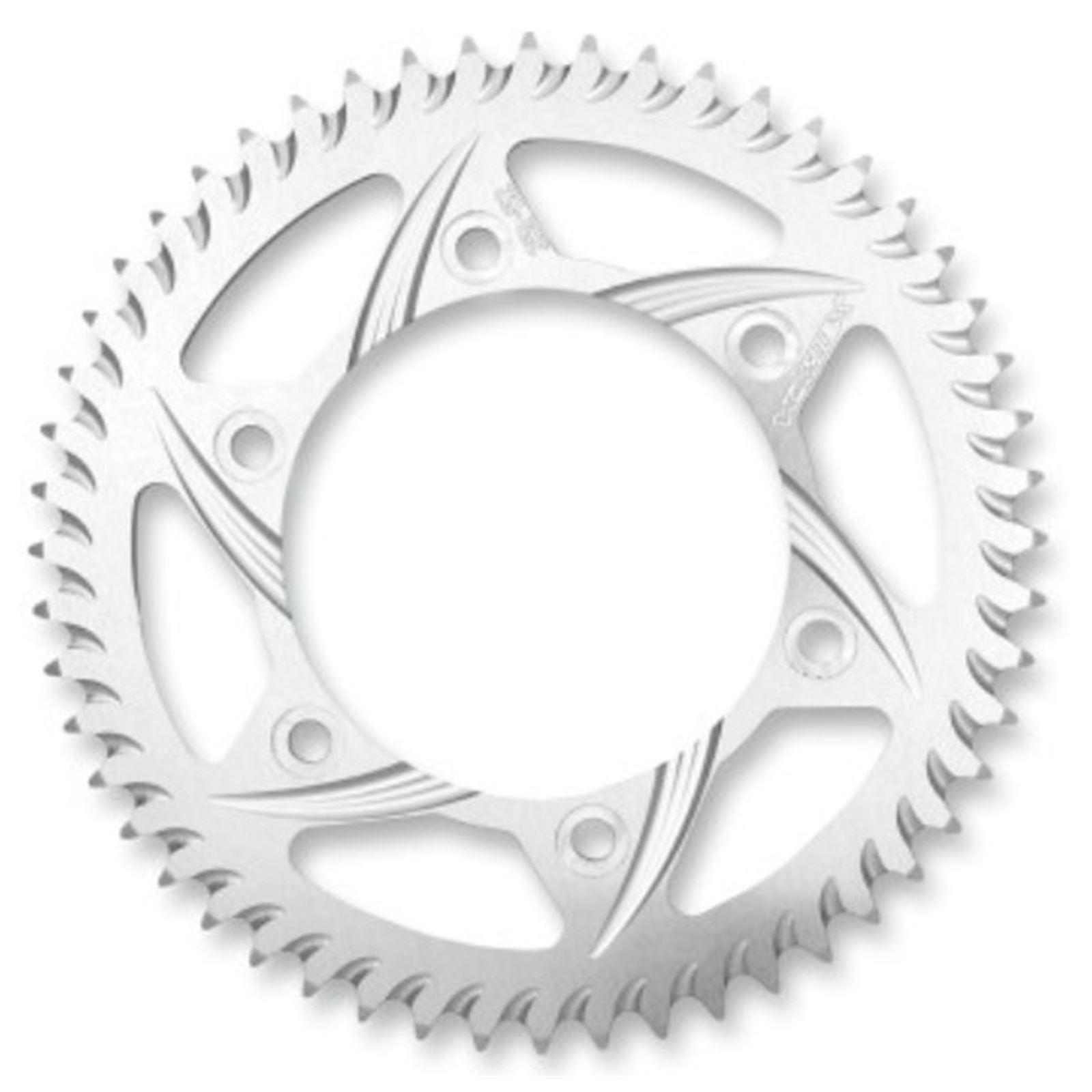 Vortex Aluminum Sprocket - Silver - Rear - 520 - 48-Tooth - KTM