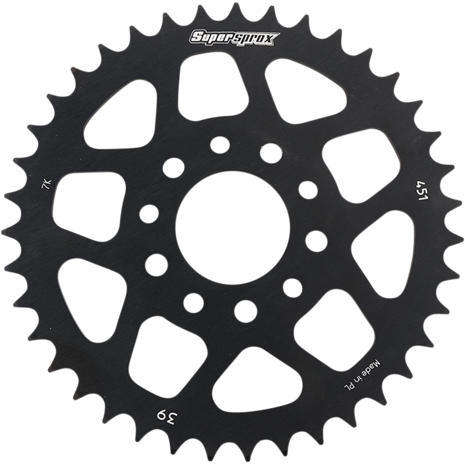 Supersprox Rear Sprocket - Black for KTM - 39-Tooth