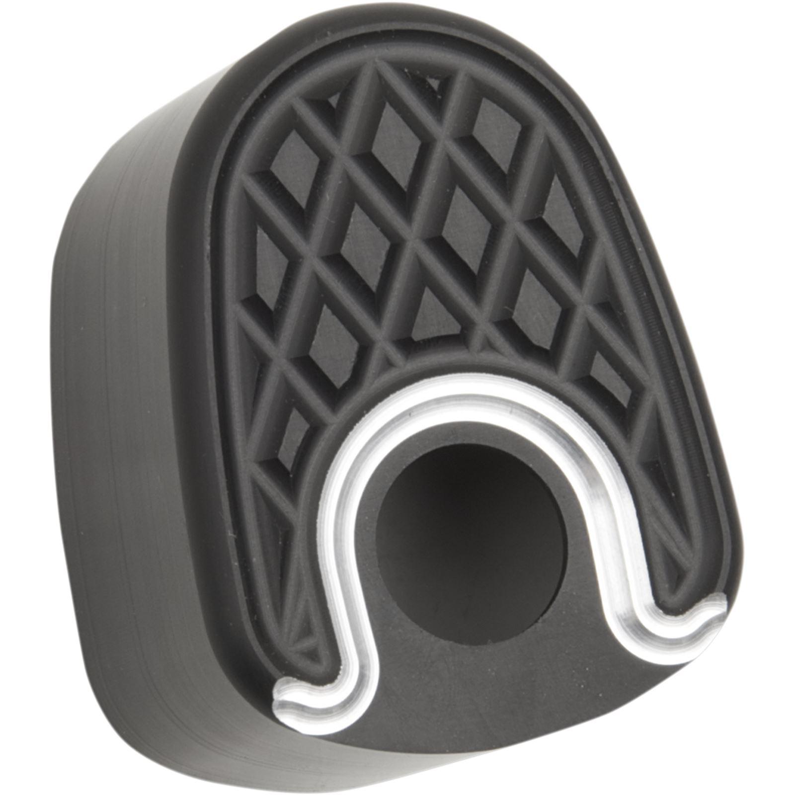 Eddie Trotta Designs Ignition Switch - Cover - Cross Cut - Black