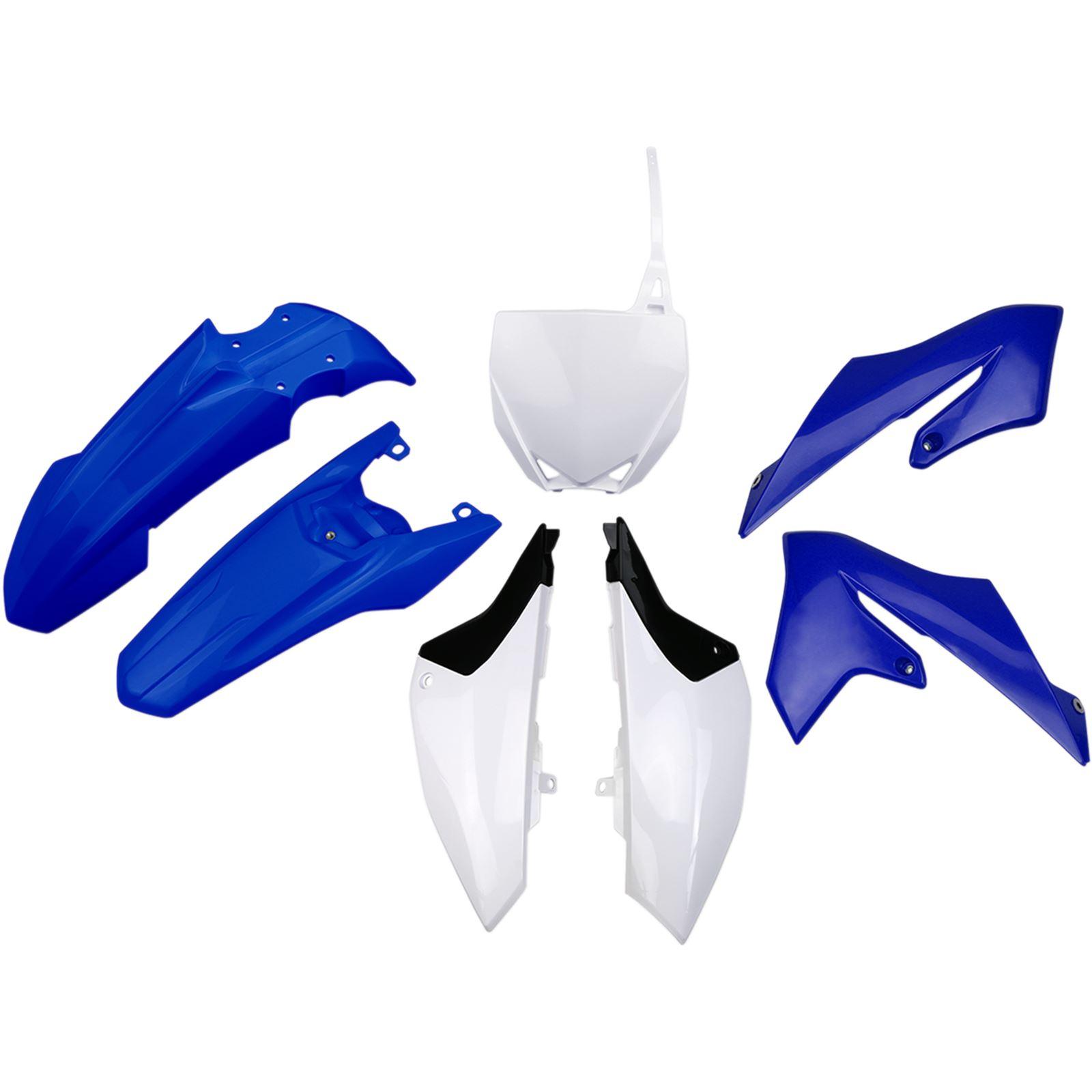 UFO Plastics Body Kit - Blue/White - YZ65