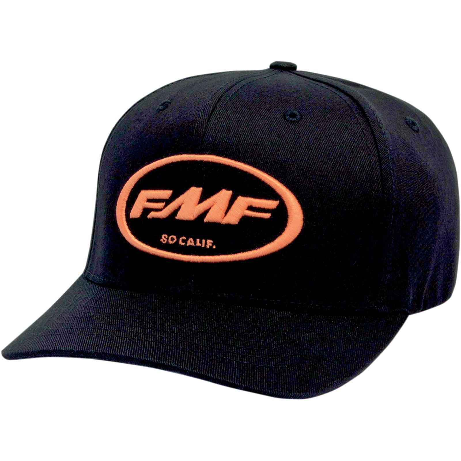 FMF Racing Factory Don Hat - Black/Orange - Large/X-Large