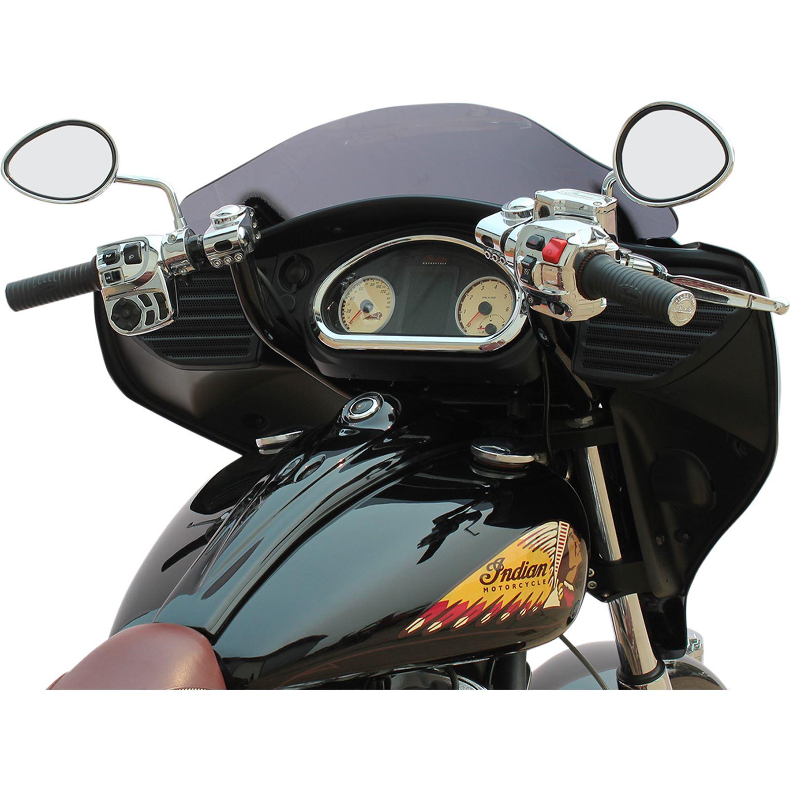 Klock Werks Black/Chrome Klip Hanger Handlebar