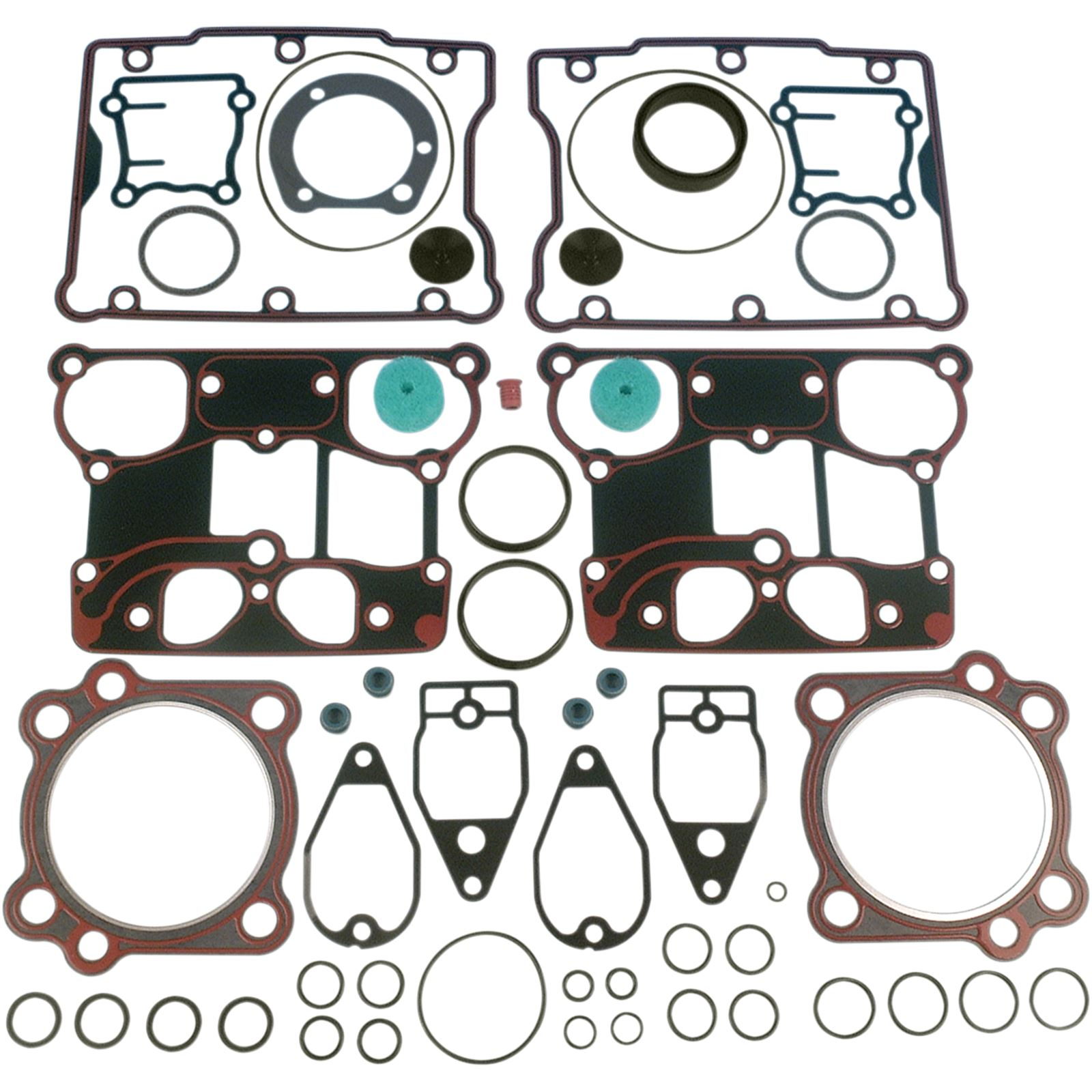 James Gaskets Top End Gasket Kit - Twin Cam