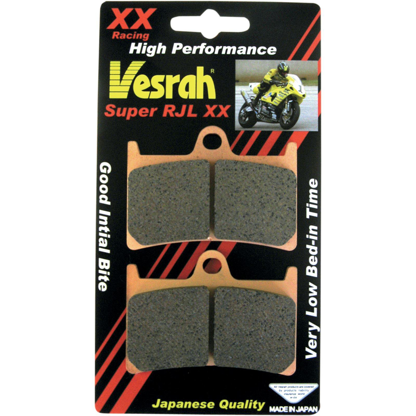 Vesrah JL Sintered Metal Brake Pads - VD-248RJL-XX