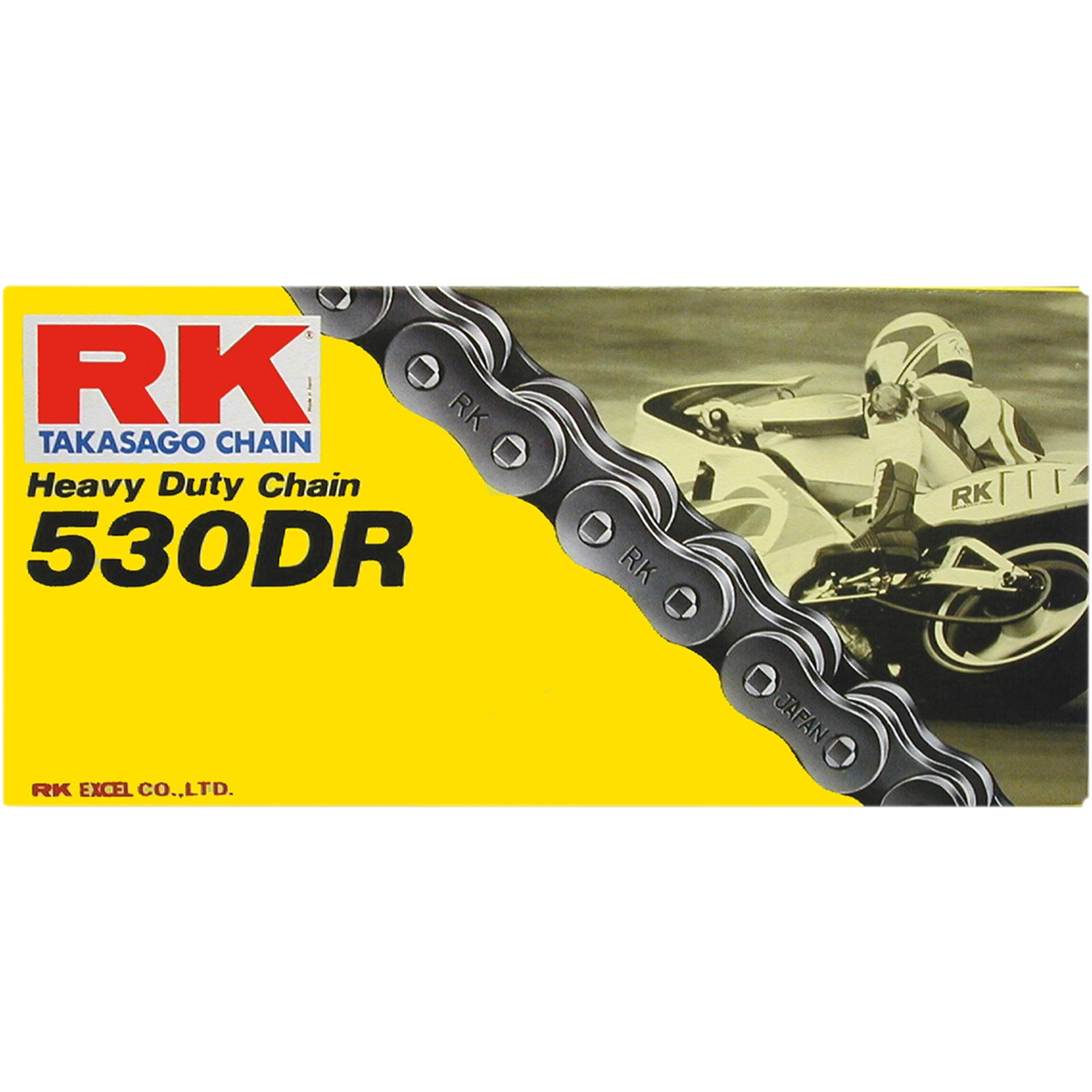 RK Excel 530 DR - Drag Racing Chain - 170 Links