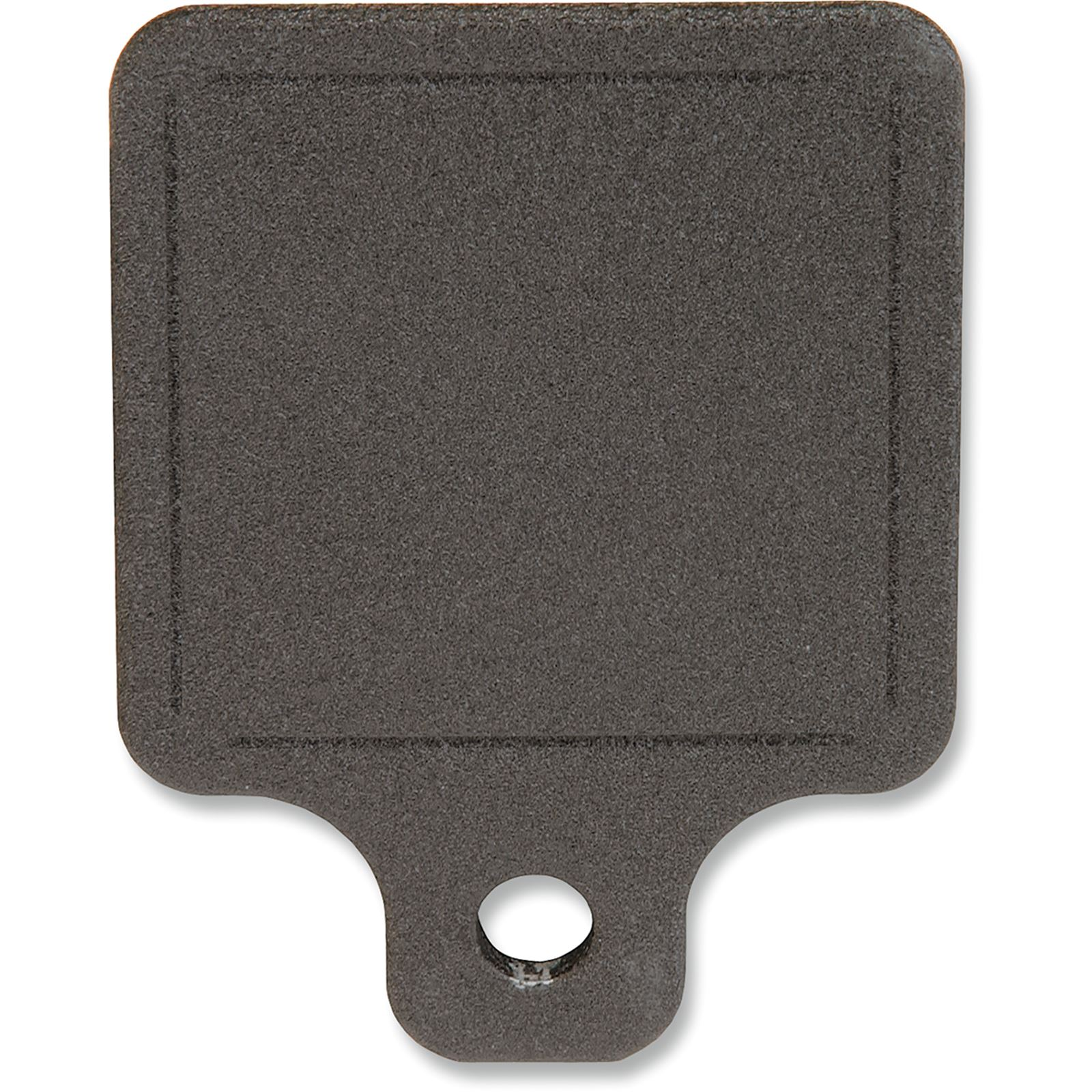 Novello Black Center Hole Inspection Plate