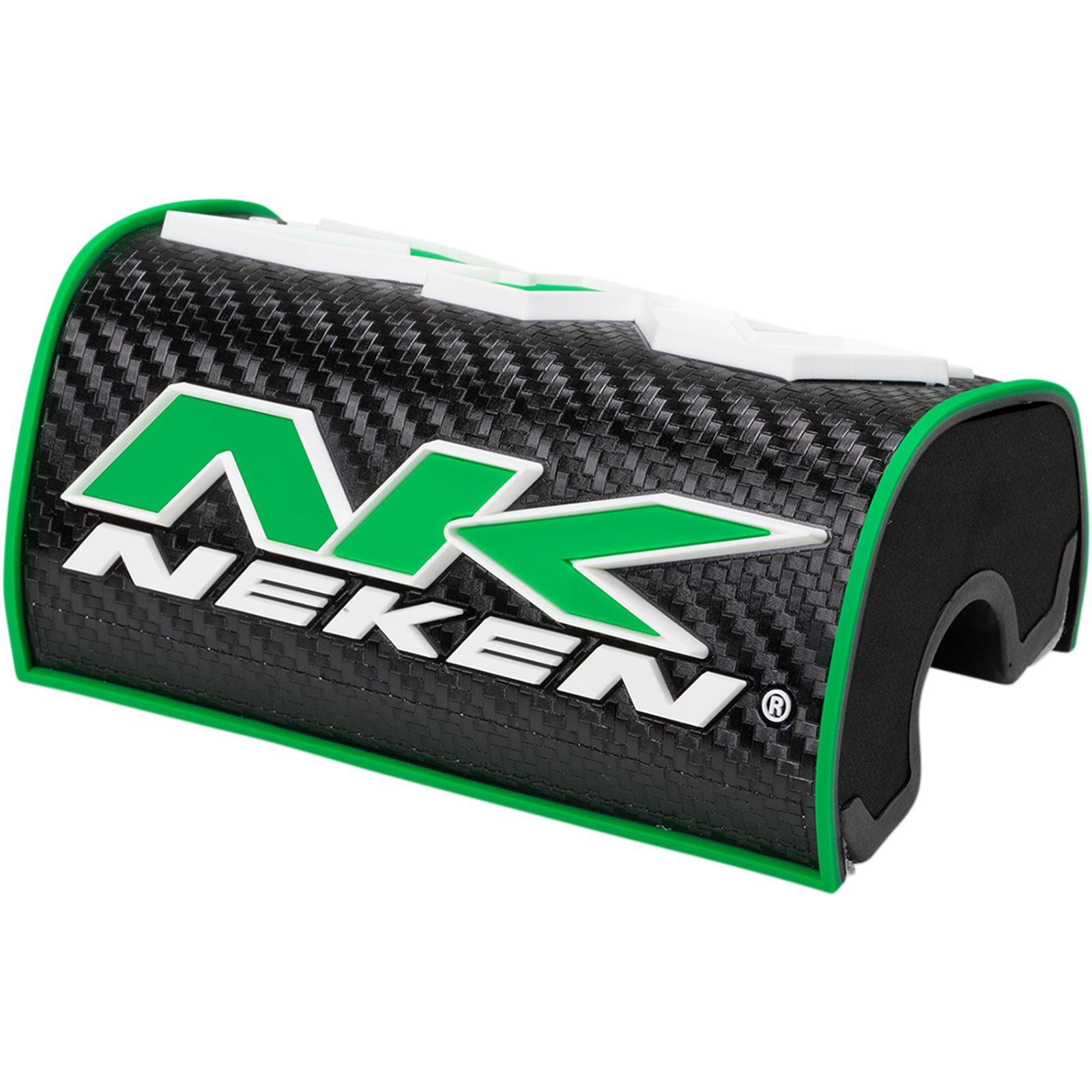 Neken Neken 3D Oversize Bar Pad - Black/Green