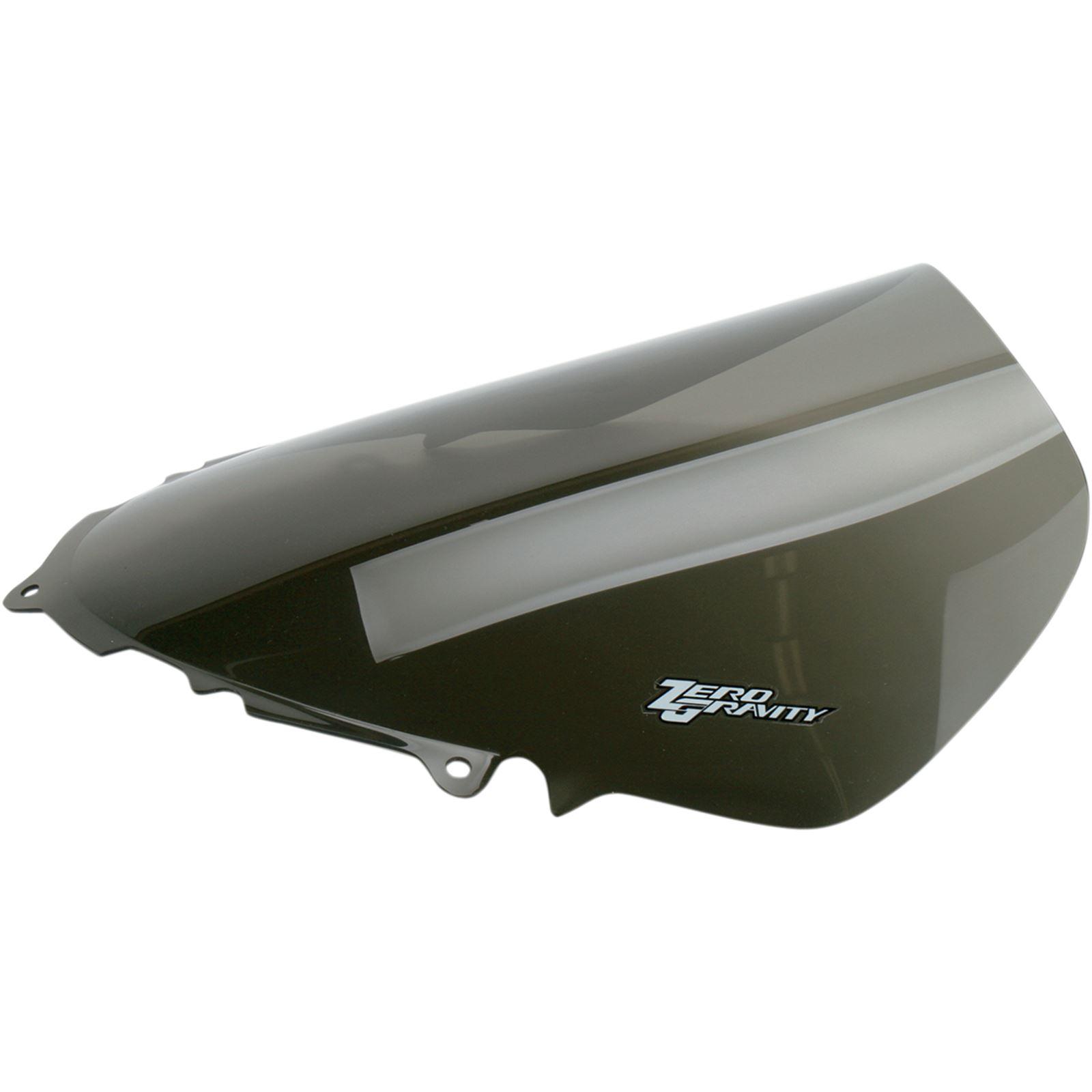 Zero Gravity Windshields Sport Winsdscreen - Smoke - 600/750