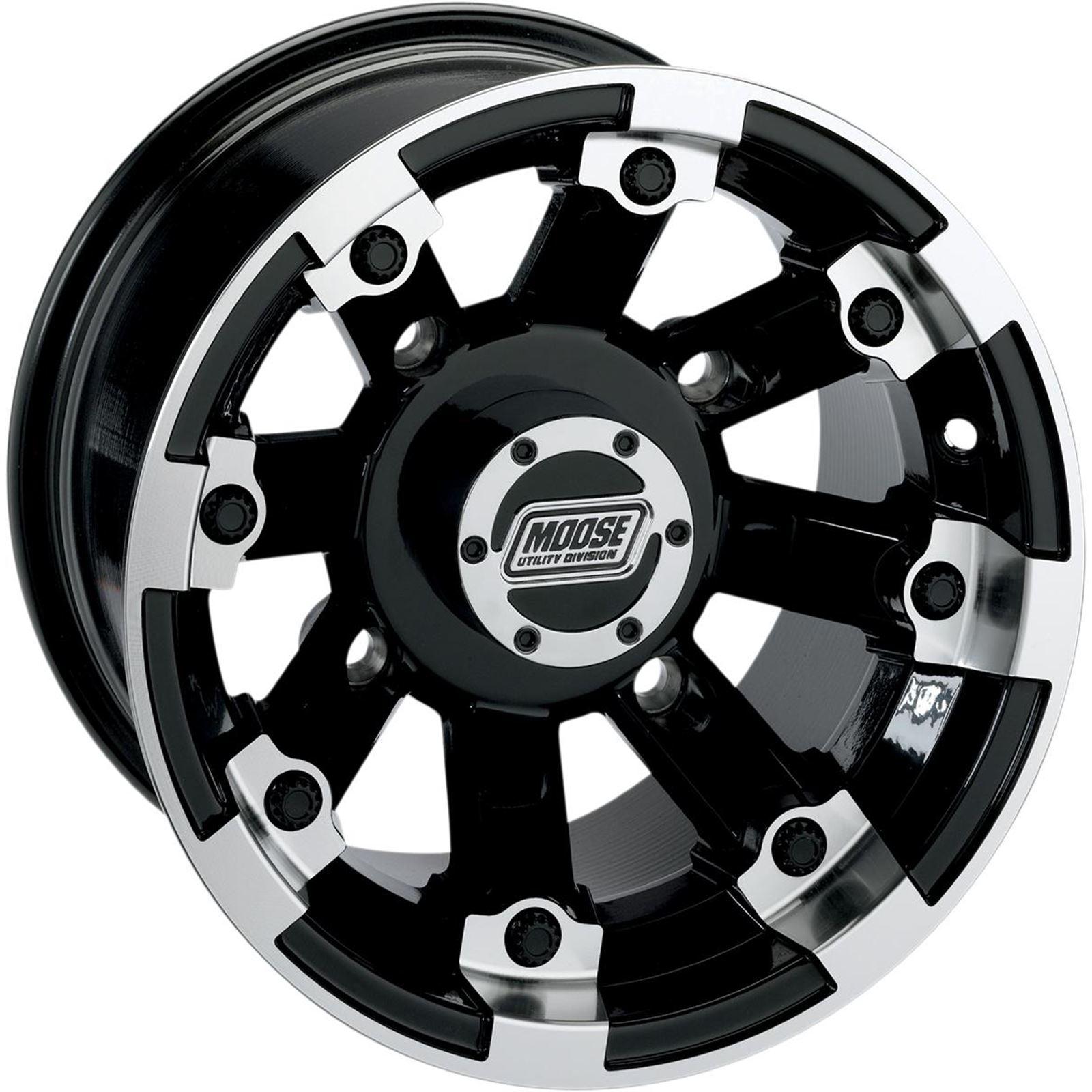 Moose Wheel - 393B - 15X8 4/110 - 4+4
