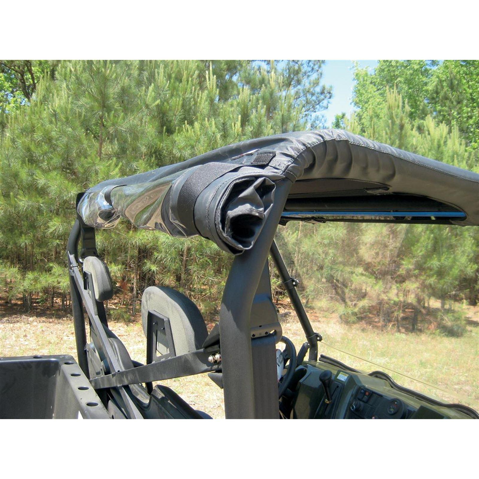 Moose Soft Top Rear Panel - Ranger