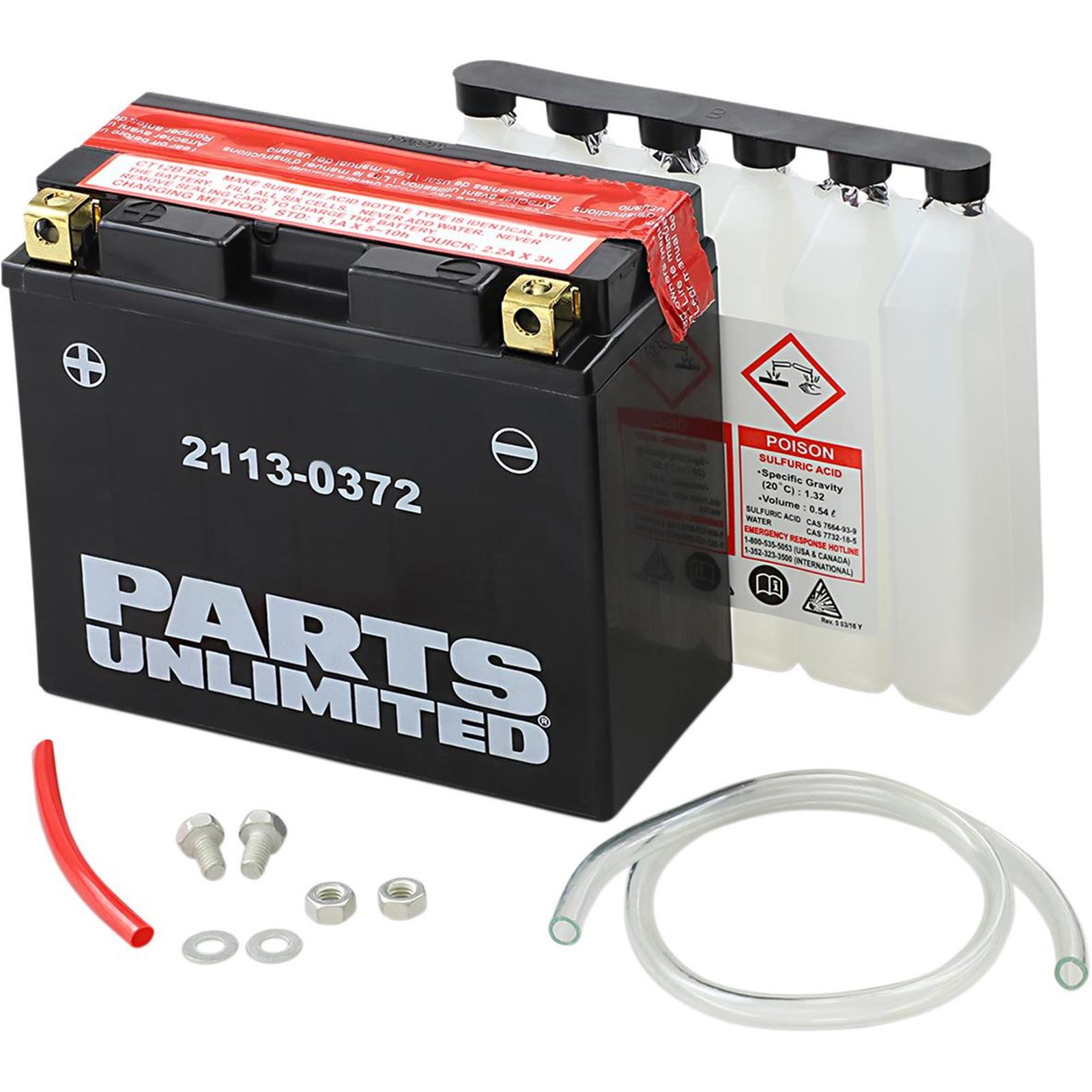 Moose AGM Battery - YT12B-BS