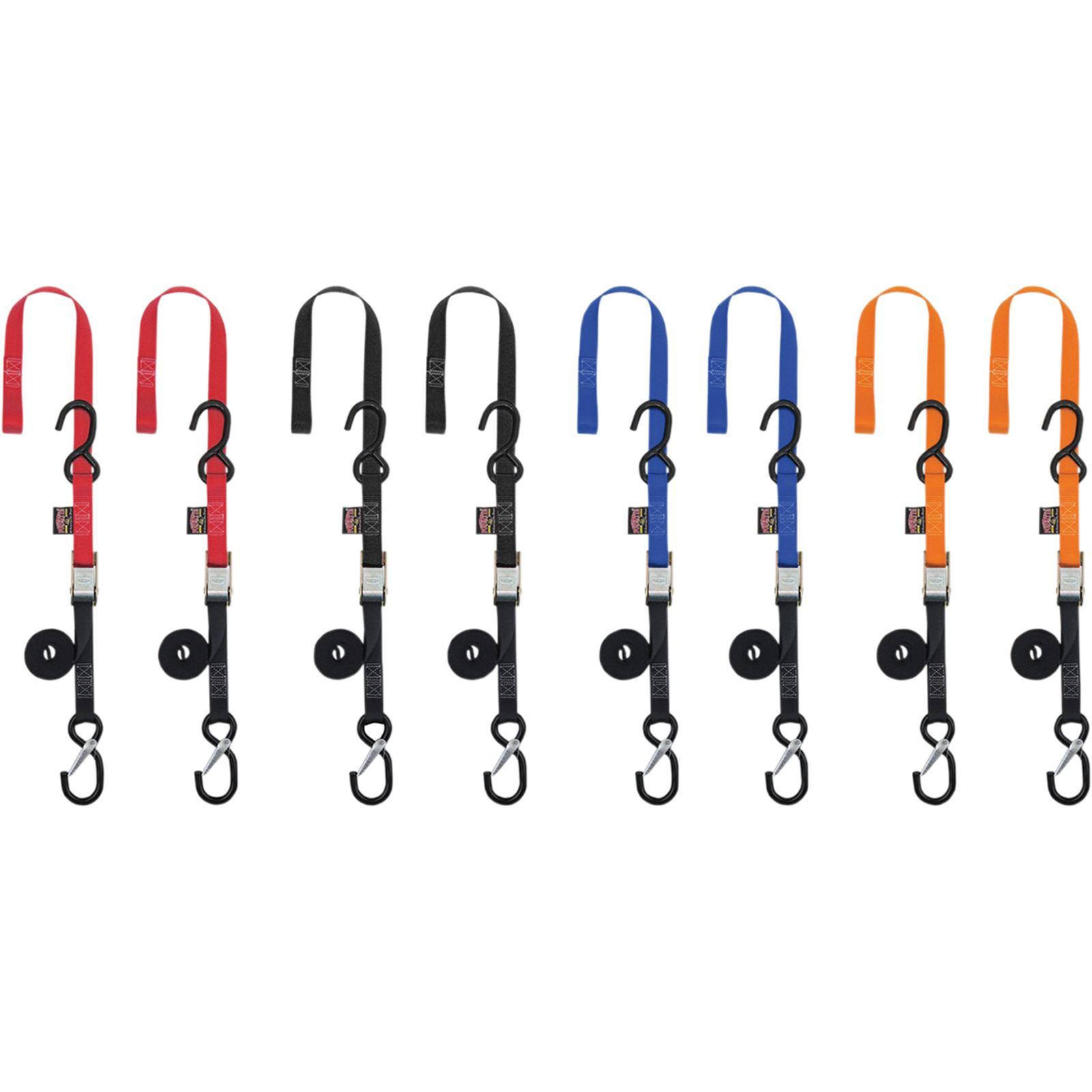 Powertye Tie-Down - Safety Hook - Black