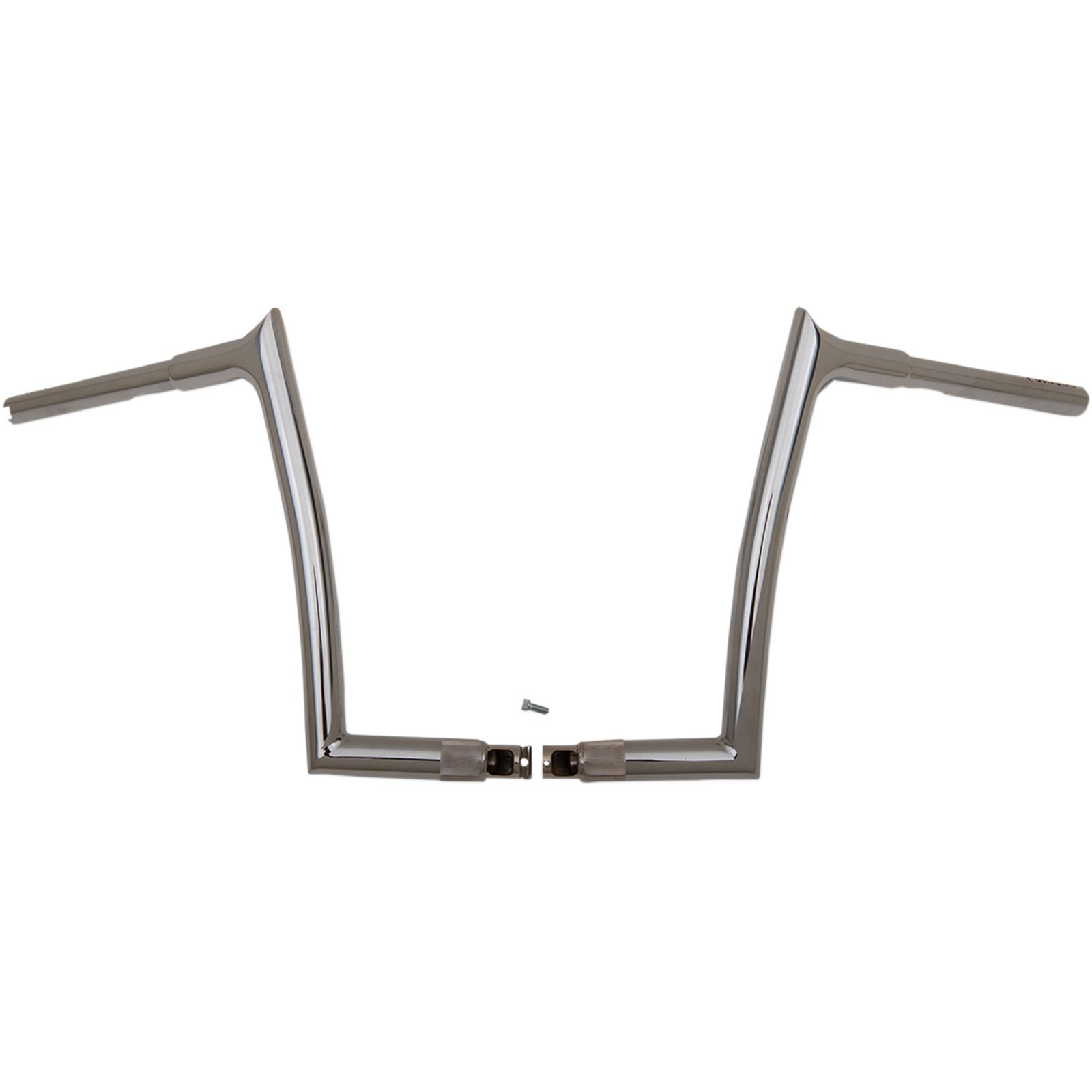"""Fat Baggers Chrome 14"""" Pointed Top Handlebar"""