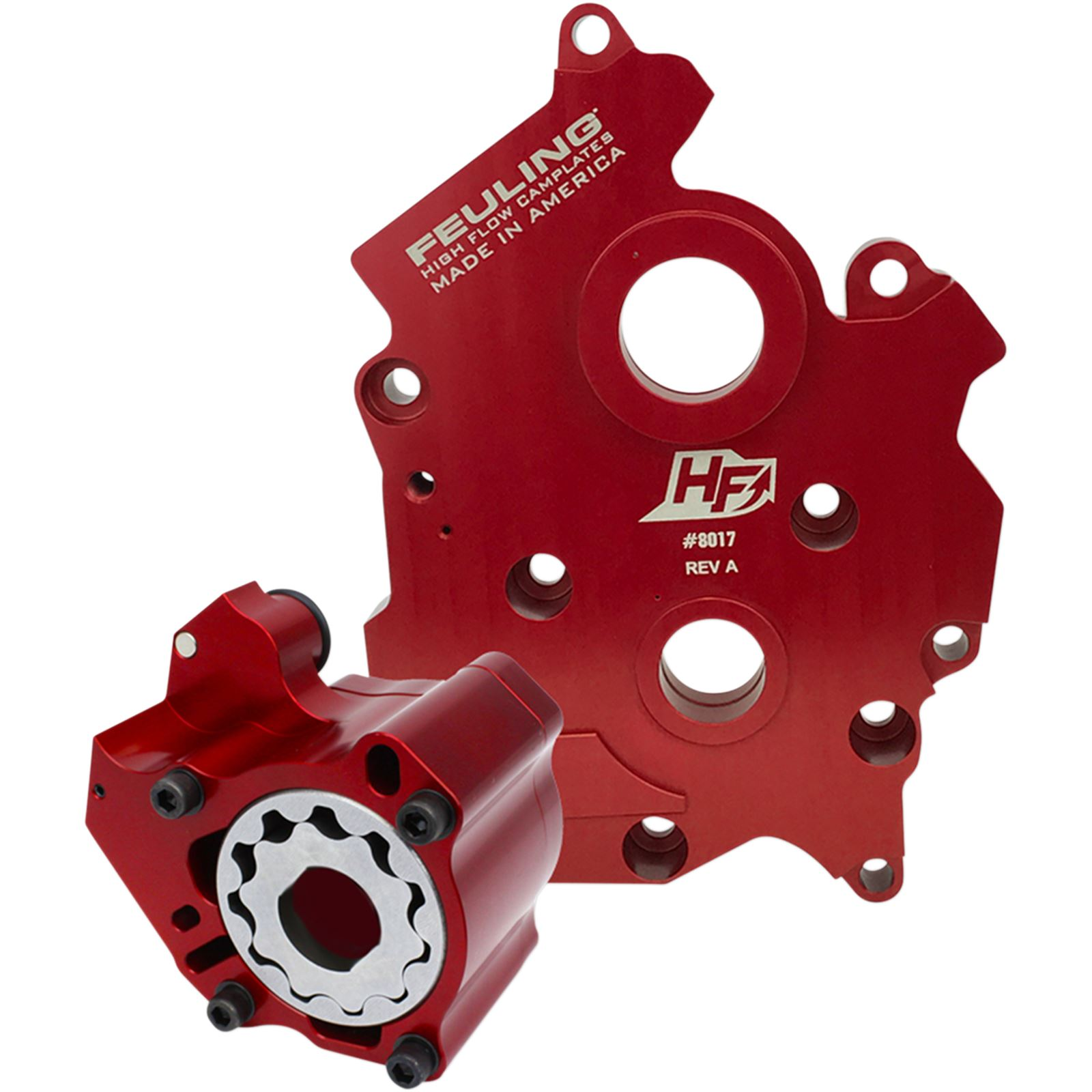 Feuling Race Oil Pump with Plate - Milwaukee-Eight Water Cooled