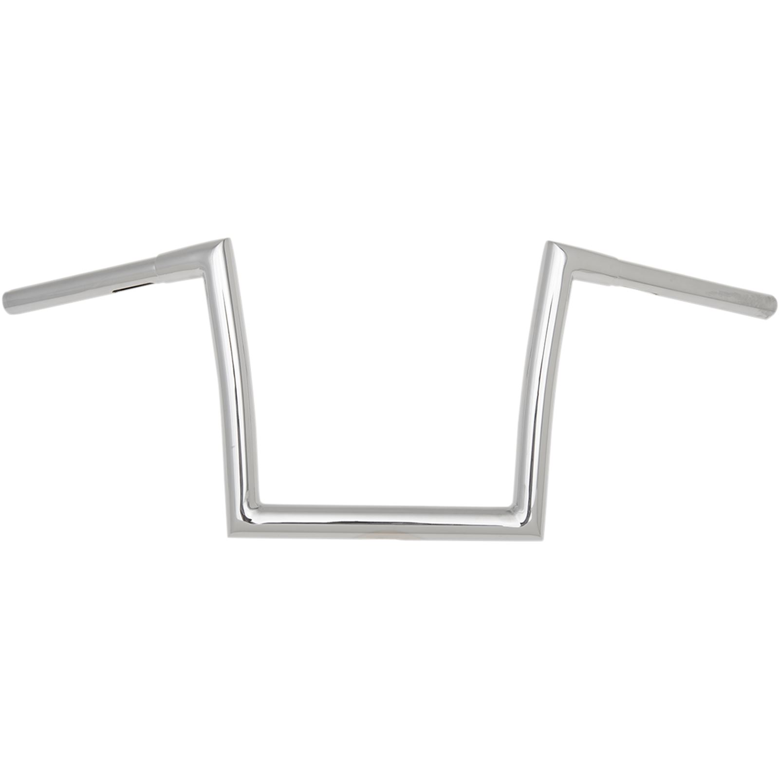 """Todds Cycle Chrome 1-1/4"""" Fat Bobber Strip Handlebar with 10"""" Rise"""