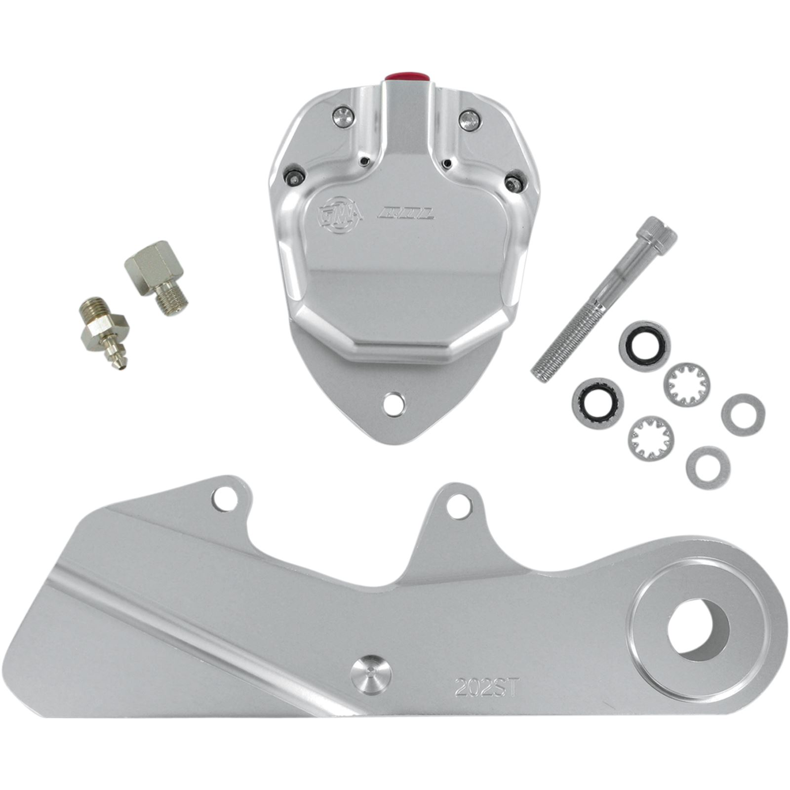 GMA Engineering Rear Caliper - 87-99 ST - Clear Anodized