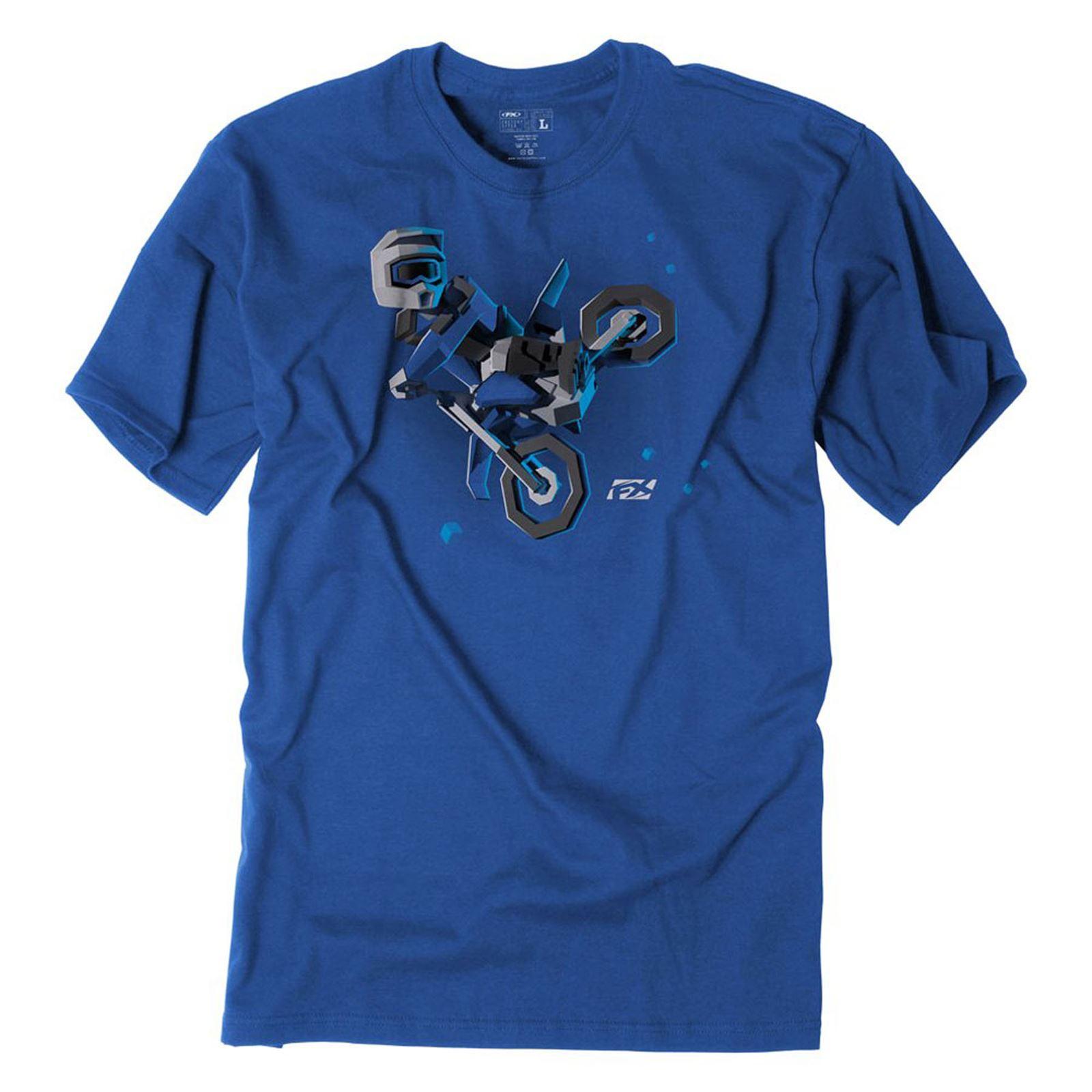Factory Effex Youth FX Moto Kids Tee Shirt - Royal X-Large