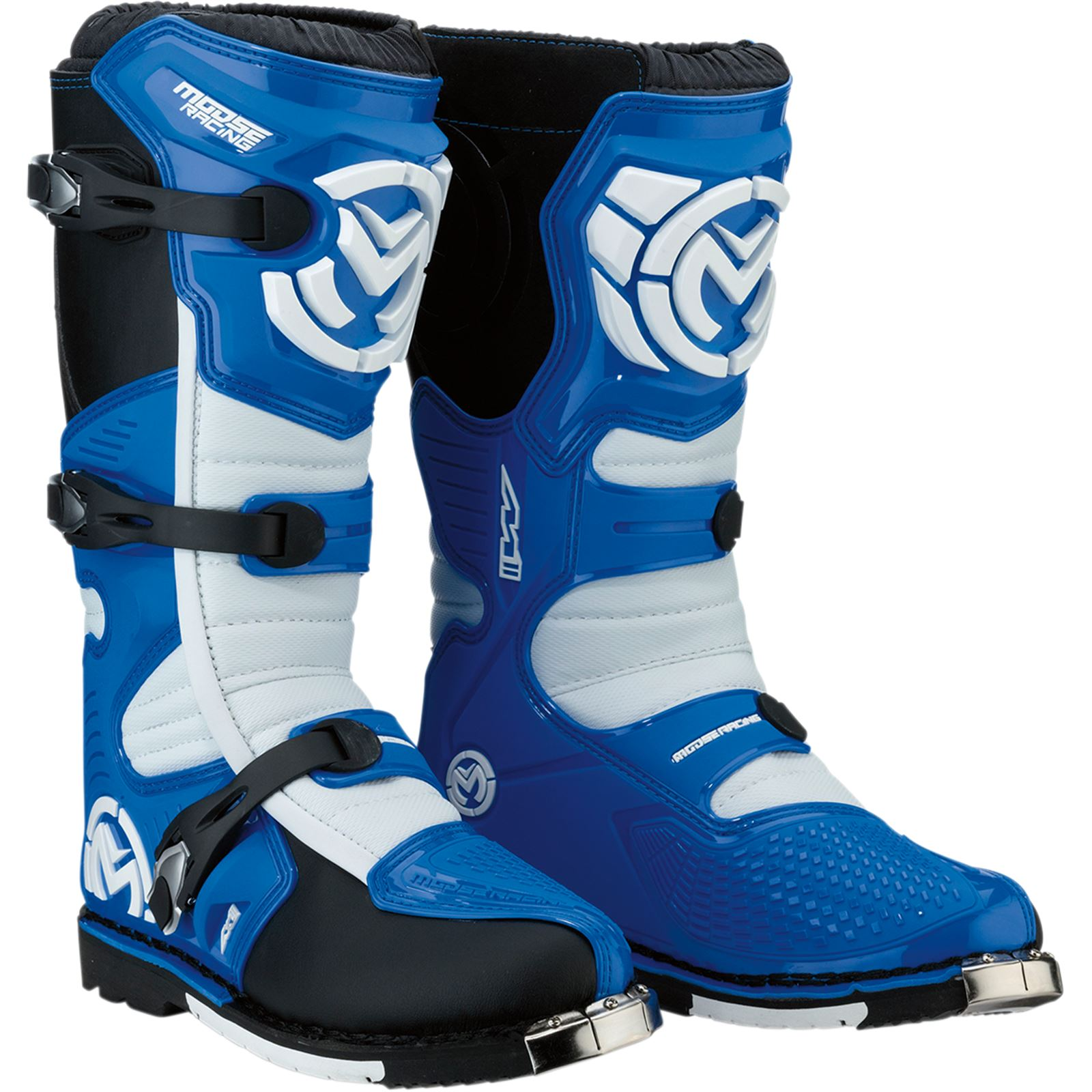 Moose Racing M1.3 MX Boots - Blue - Size 10