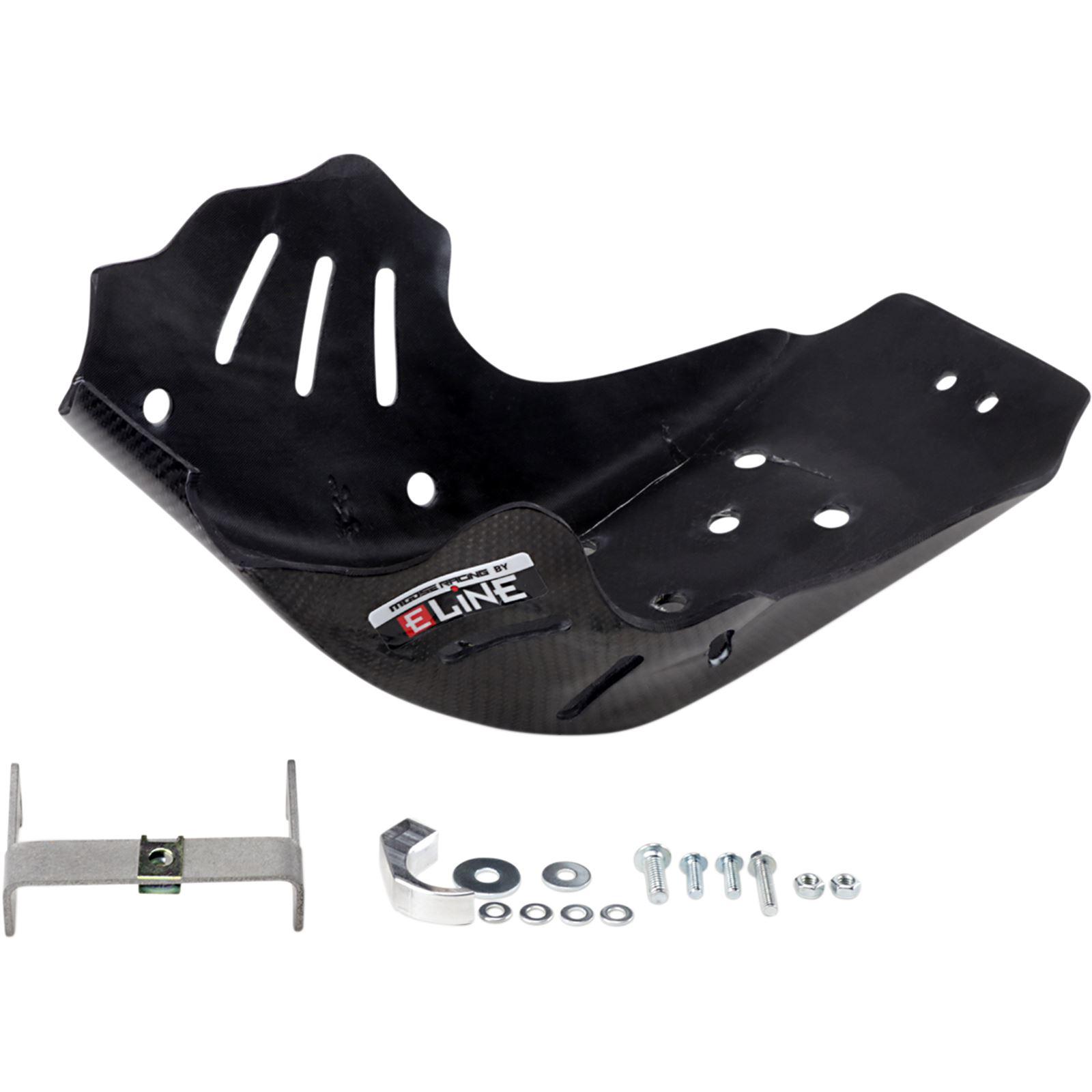 Moose Racing Carbon Fiber Skid Plate - Husqvarna