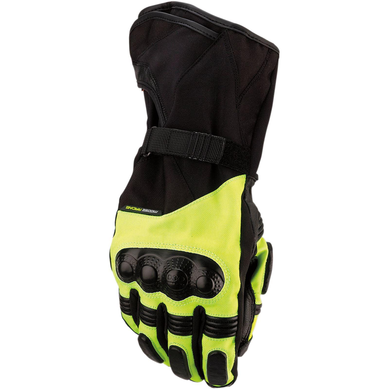 Moose Racing ADV1™ Long Gloves - Black/Hi-Viz - 3X-Large