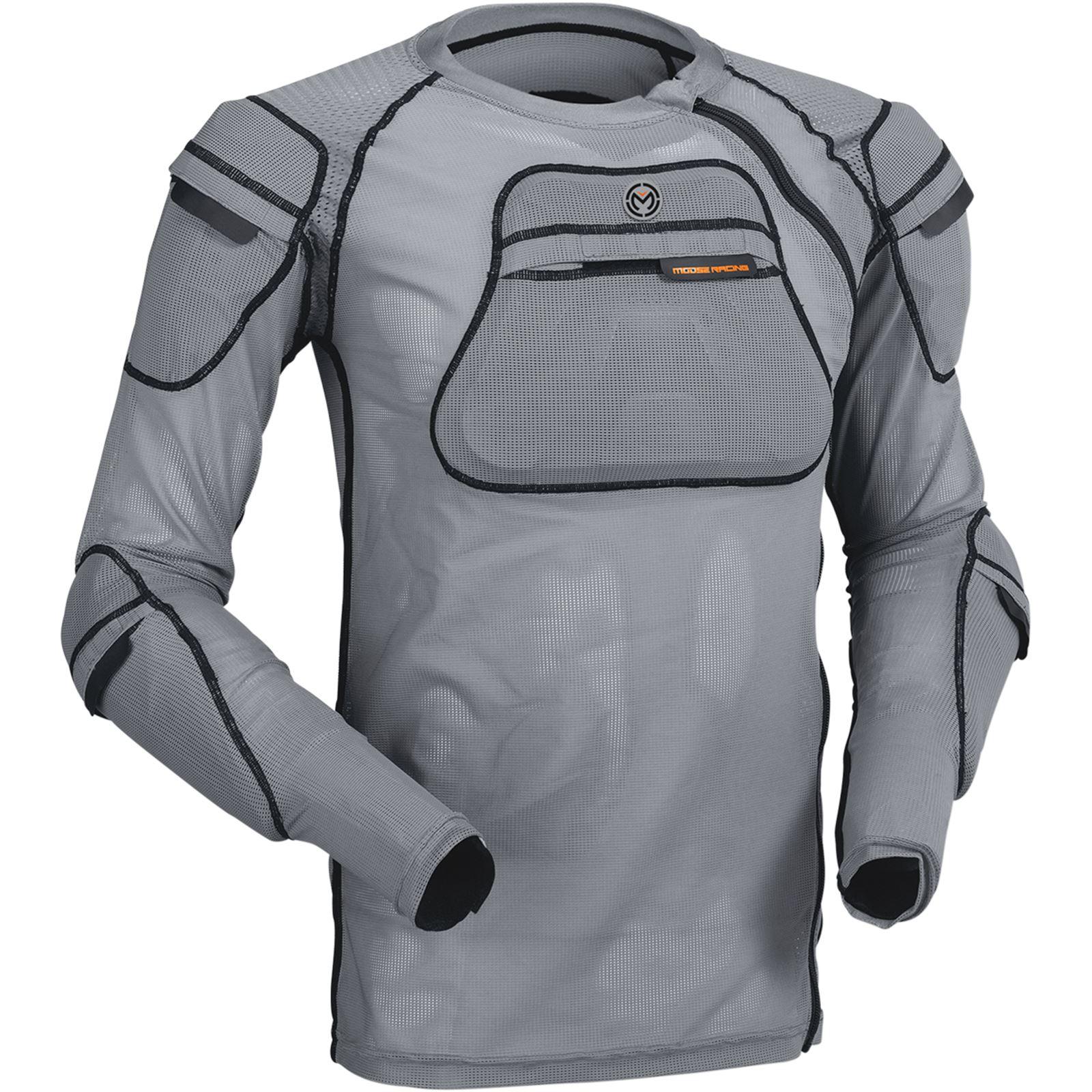 Moose Racing XC1 Body Armor - Gray - 2X-Large/3X-Large