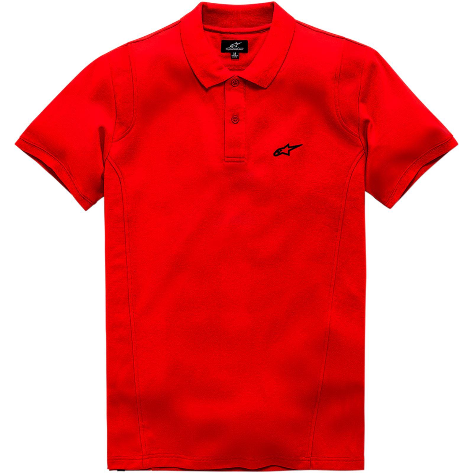 Alpinestars Capital Polo T-Shirt - Red - 2X-Large