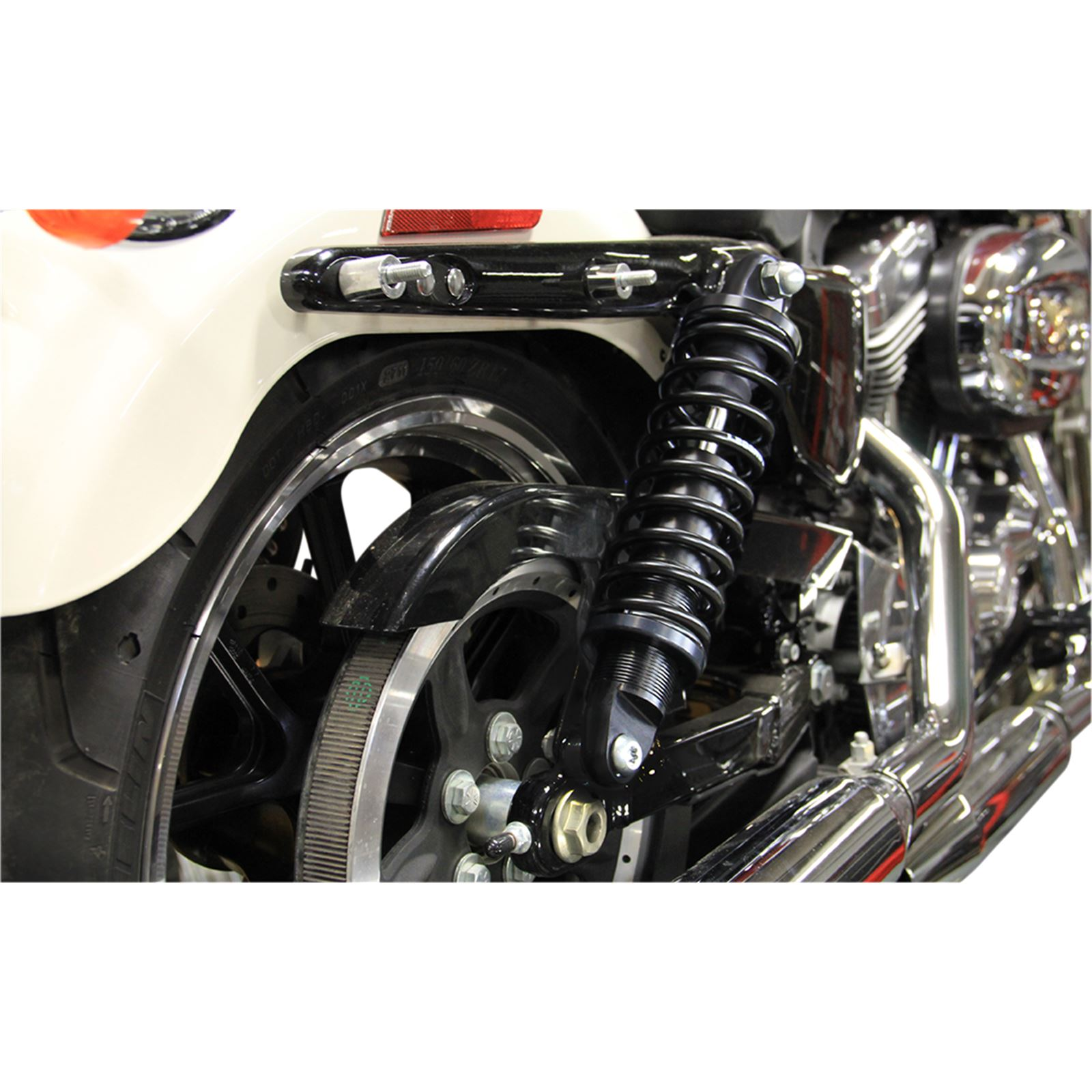 "Legend Suspension Revo-A Adjustable XL Coil Suspension - Black - Standard - 13"""