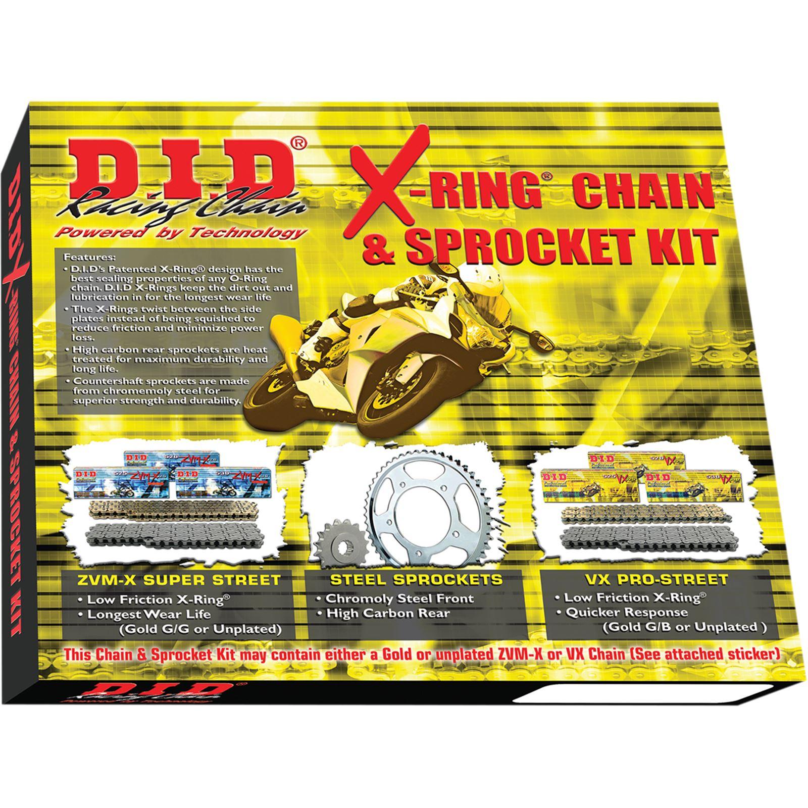 D.I.D Chain Kit - Yamaha - FZ6R '09-'14