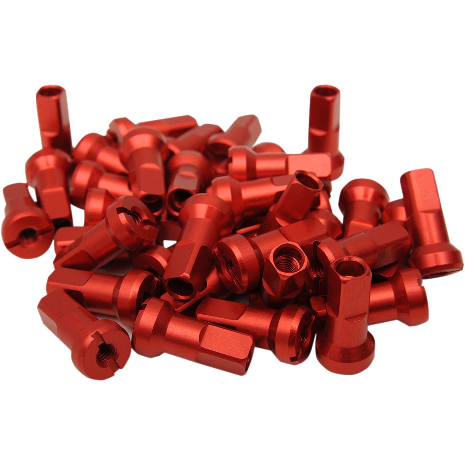 Moose Racing MX1 Nipple Set Red - 8-Gauge