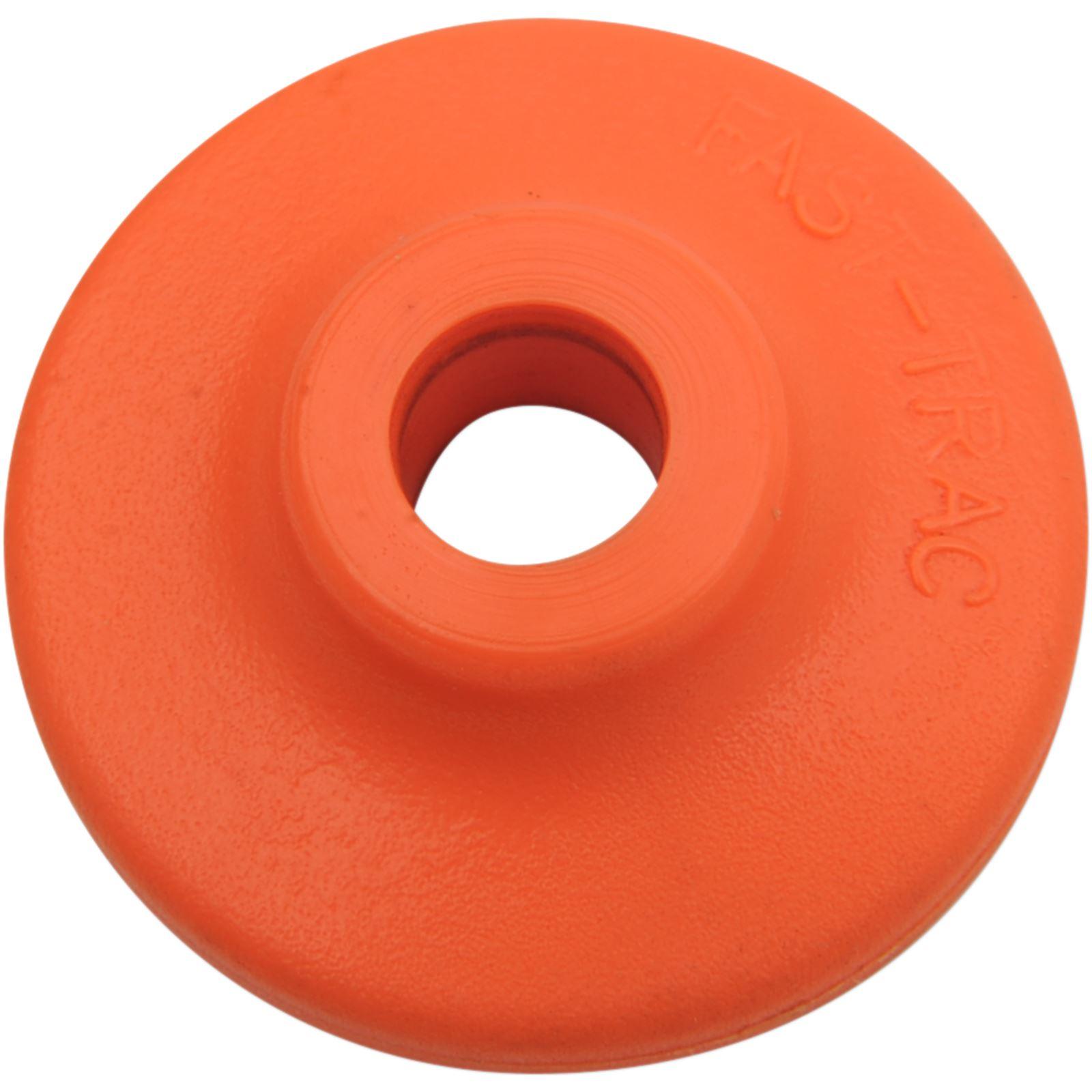 Fast-Trac Extra Large Backer Plates - Orange - Round - 96/Pack