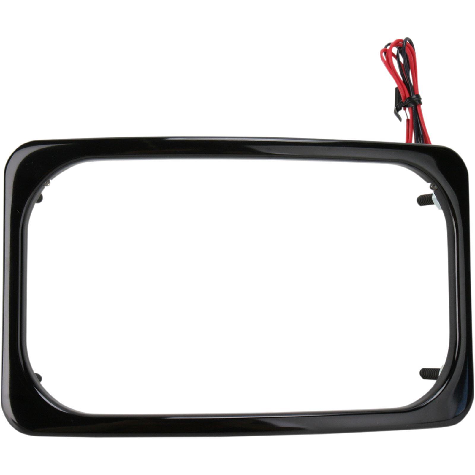 Paul Yaffe's Bagger Nation License Plate Frame - Black
