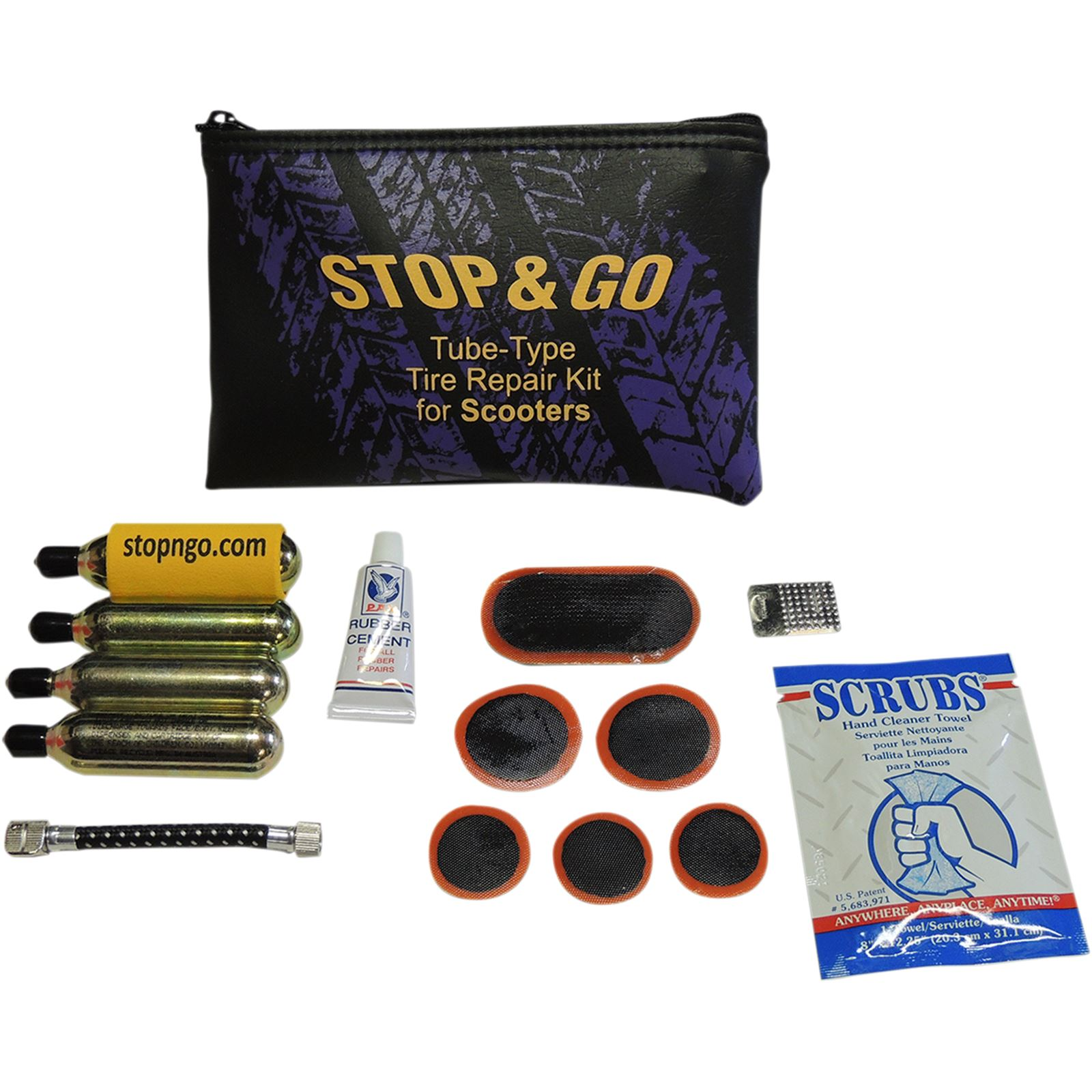 Stop And Go Int'l Scooter Tire Repair Kit