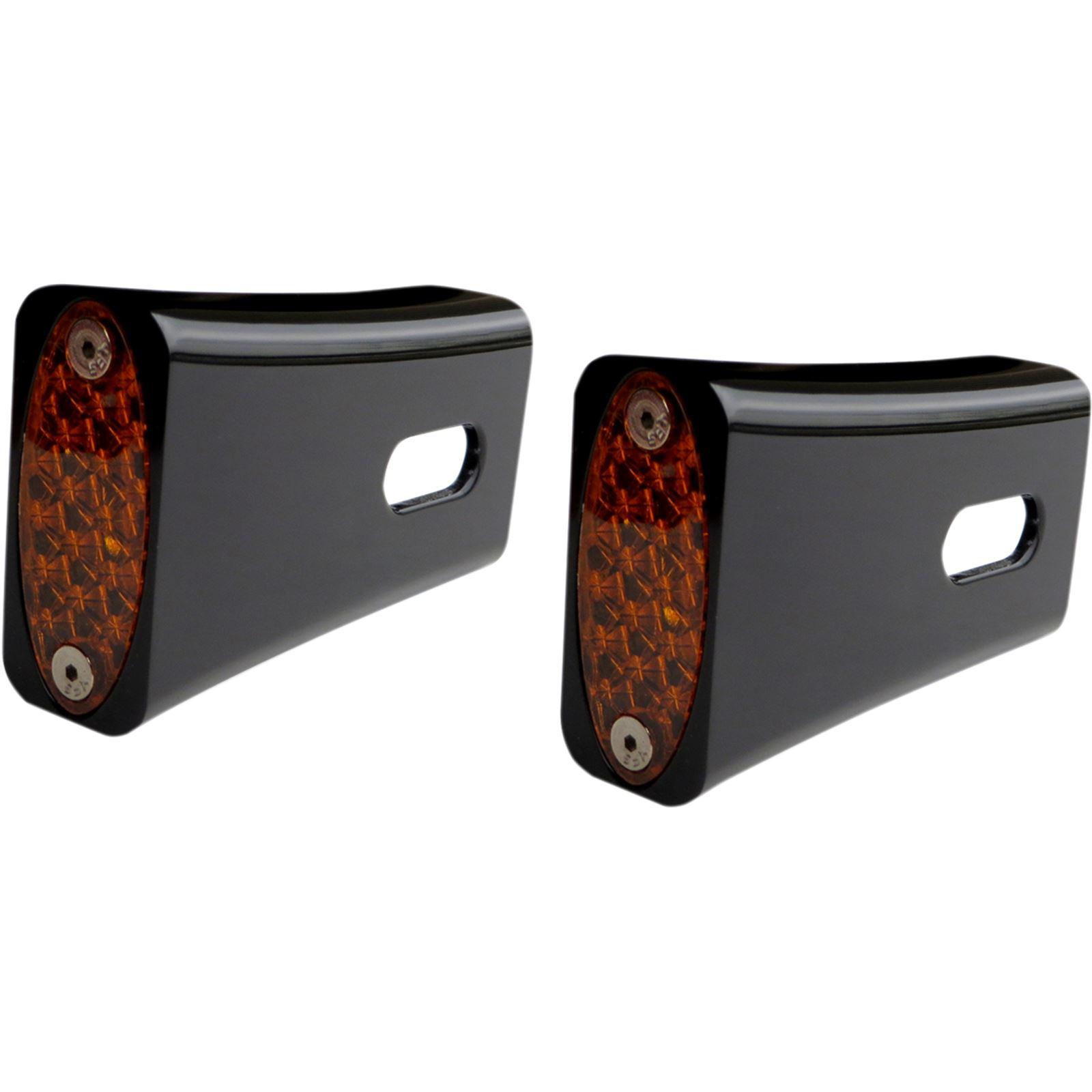 Pro-One Performance Strut LED Marker Light - Black/Amber
